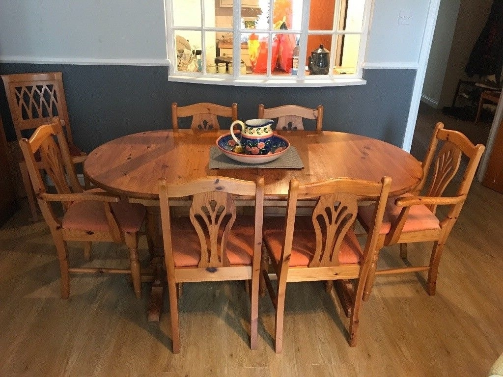 Recent 8 Seater Dining Table (Extendable) £ (View 18 of 25)