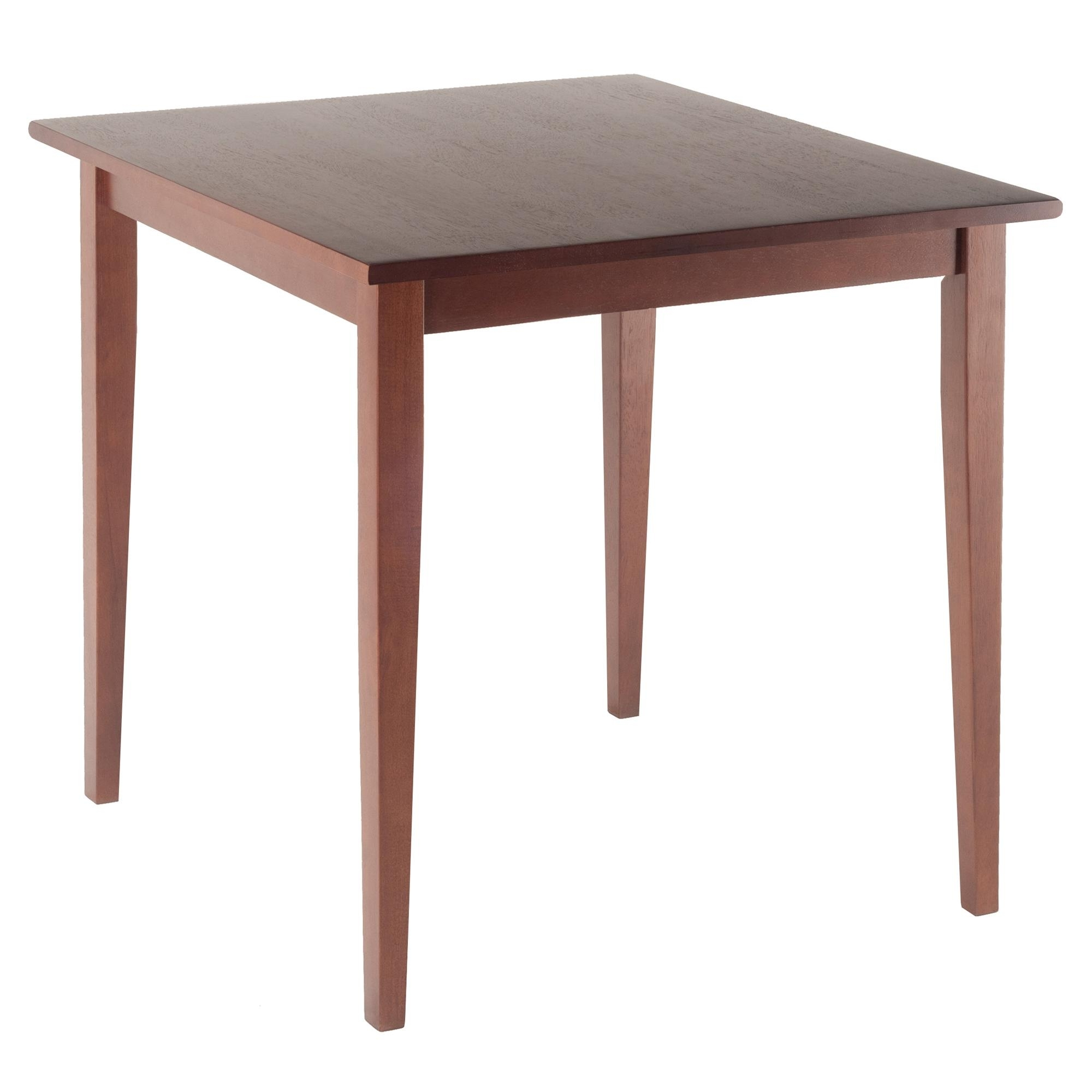 Recent Amazon – Winsome Wood Groveland Square Dining Table In Antique Regarding Square Dining Tables (View 18 of 25)
