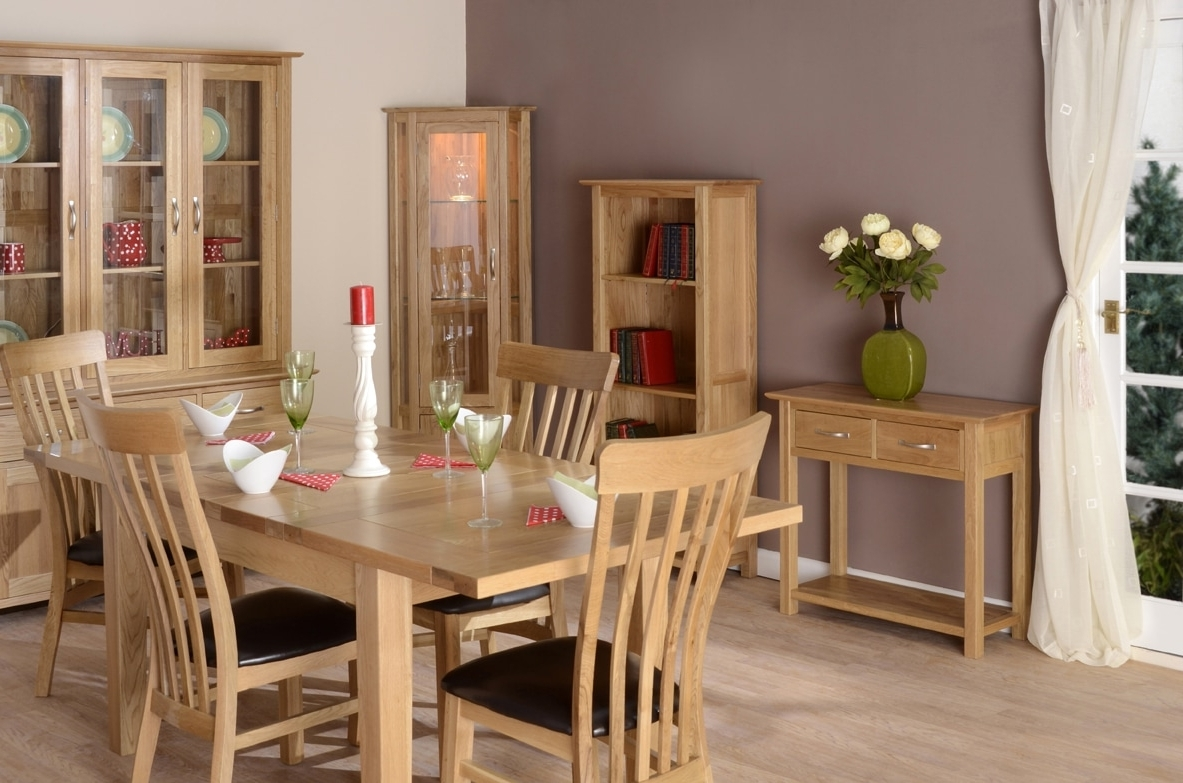 Recent Burleigh Oak Dining – The Cotswold Collection Regarding Cotswold Dining Tables (View 18 of 25)