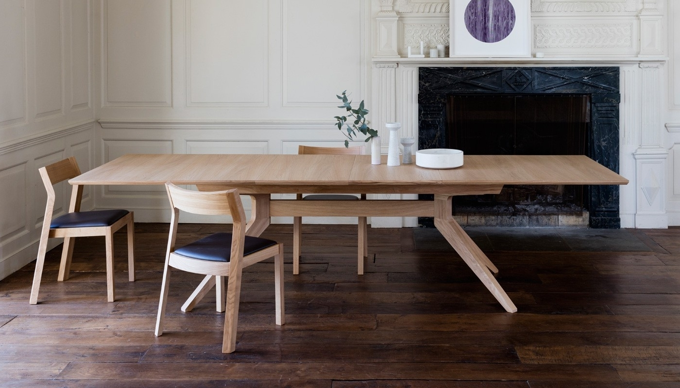 Recent Case Cross Extending Dining Table (View 9 of 25)