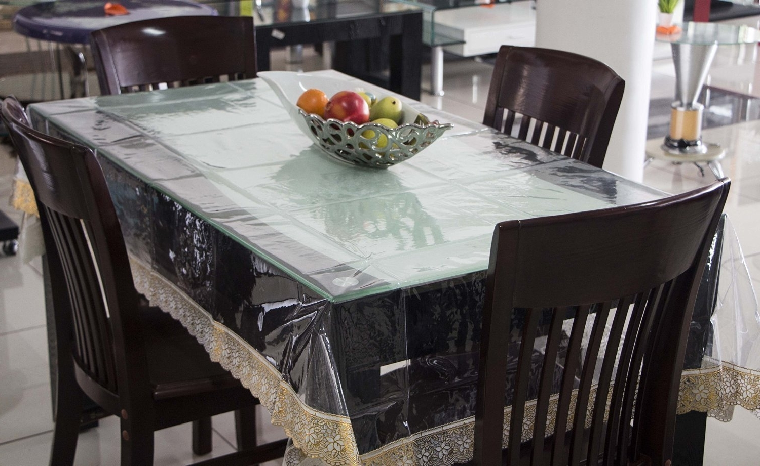 Recent Clear Plastic Dining Room Table Covers – Dining Tables Ideas Throughout Clear Plastic Dining Tables (View 20 of 25)