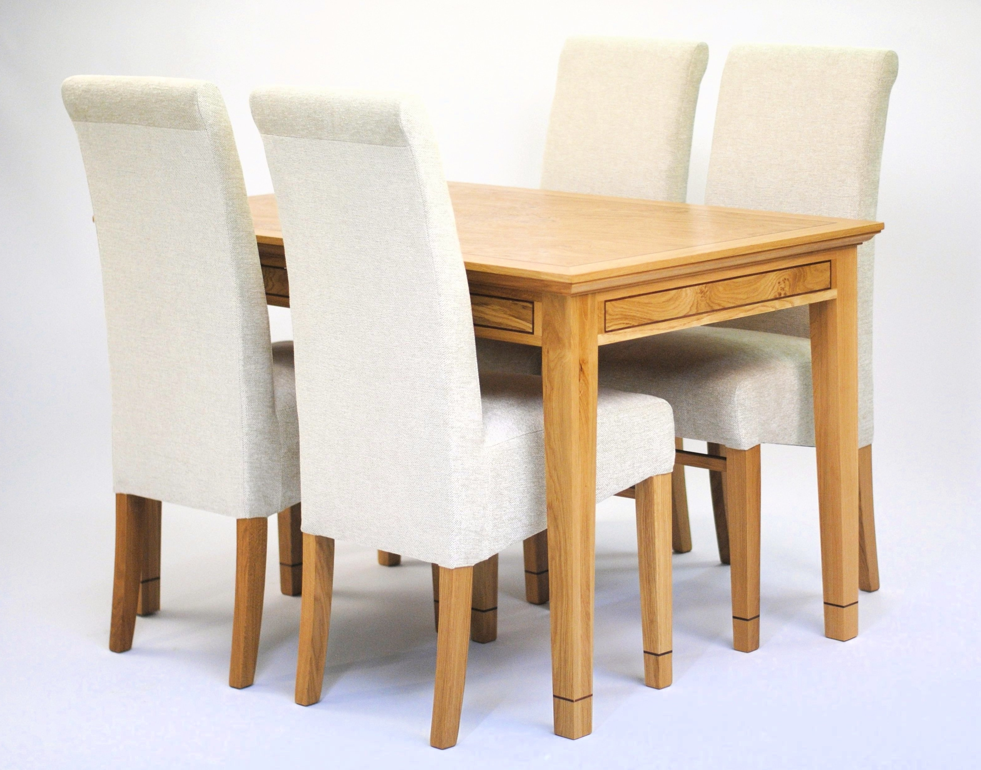 Recent Dining Tables Chairs Regarding Oak Dining Table & 4 Chairs – Tanner Furniture Designs (View 23 of 25)