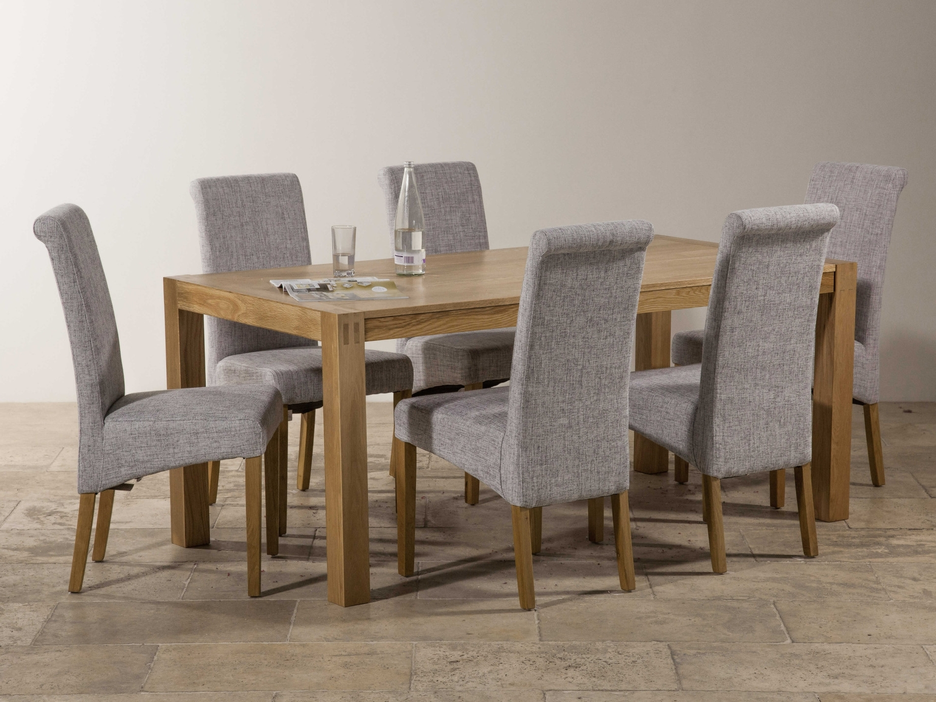 Recent Dining Tables Grey Chairs For Dining Room Chair Fabric Grey Fabric Dining Room Chairs Of Counter (View 21 of 25)