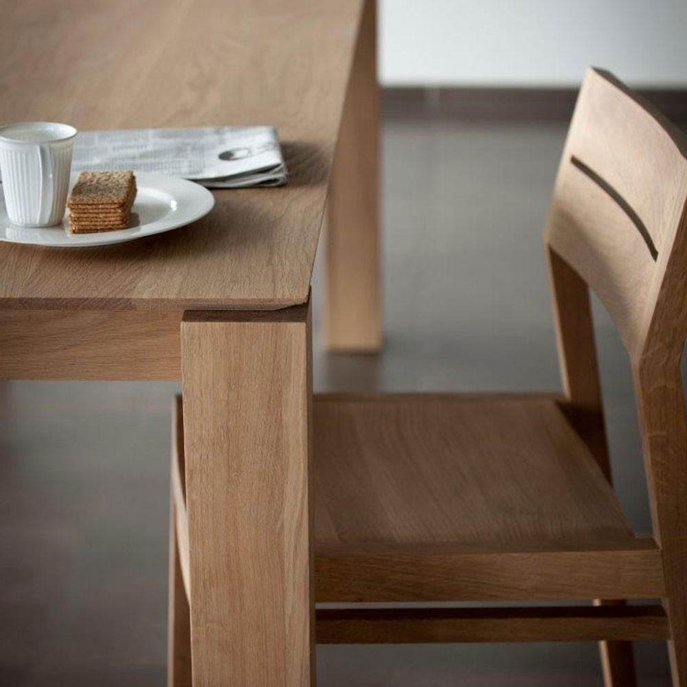 Recent Ethnicraft Slice Oak Dining Table (View 15 of 25)