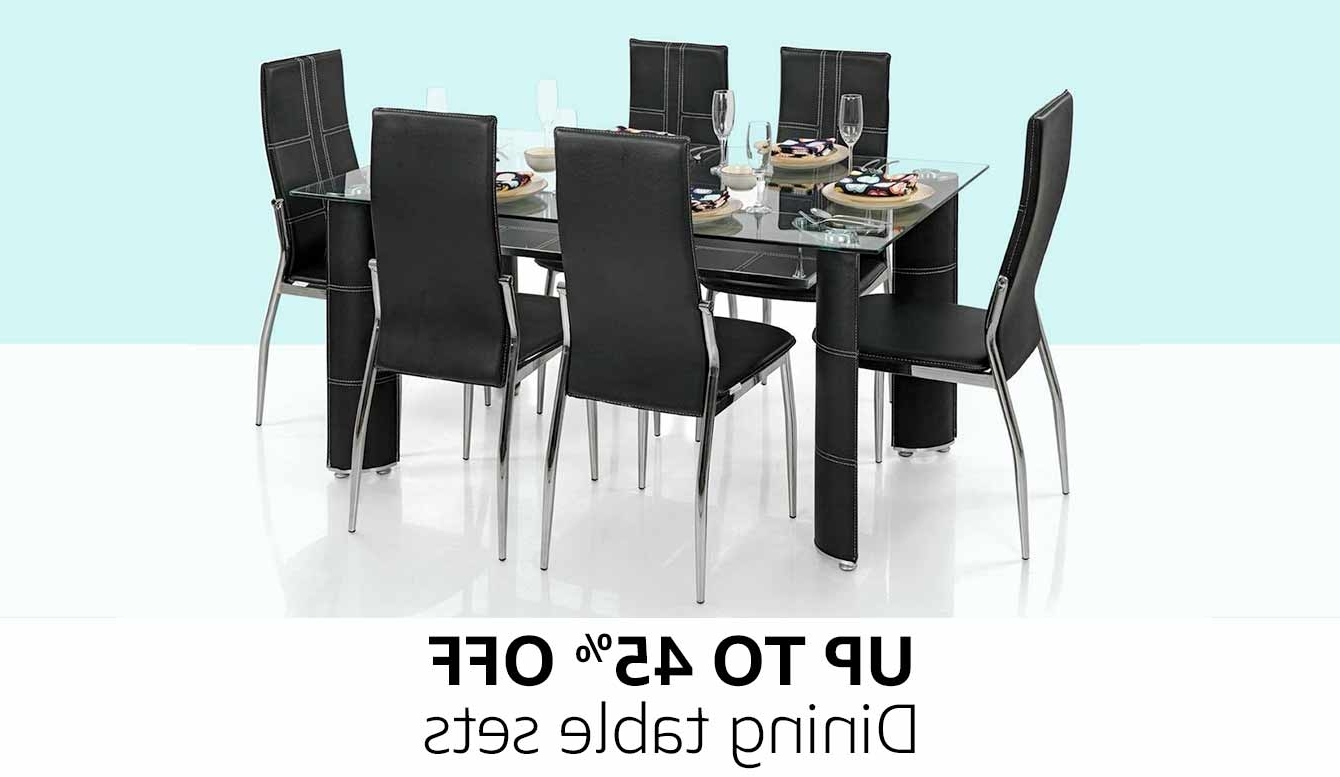 Recent Kitchen Dining Tables And Chairs Inside Kitchen & Dining Room Furniture : Buy Kitchen & Dining Room (View 20 of 25)