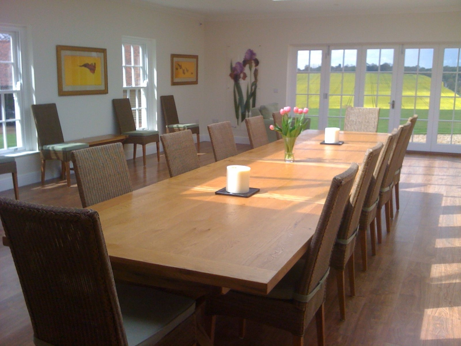 Recent Large Dining Table, Large Oak Table, Huge Dining Table, 14 Seater Within Extending Dining Tables With 14 Seats (View 6 of 25)