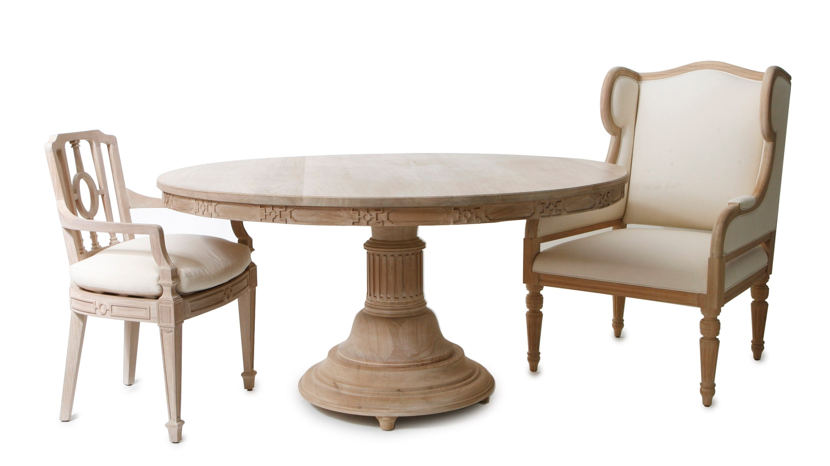 Recent Laurent Round Dining Tables Intended For Laurent Dining Table (View 13 of 25)