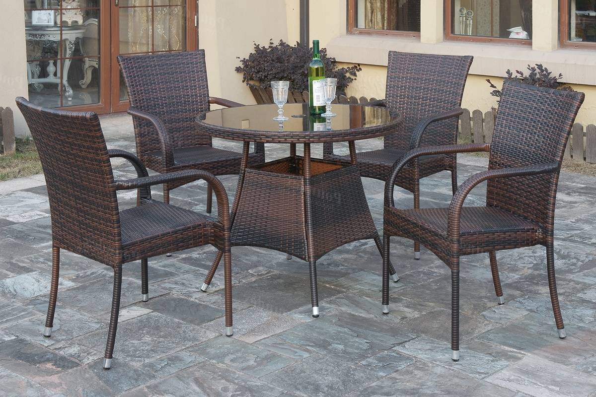 "Recent Lazio Dining Tables With Lazio"" Patio Dining Set (View 20 of 25)"