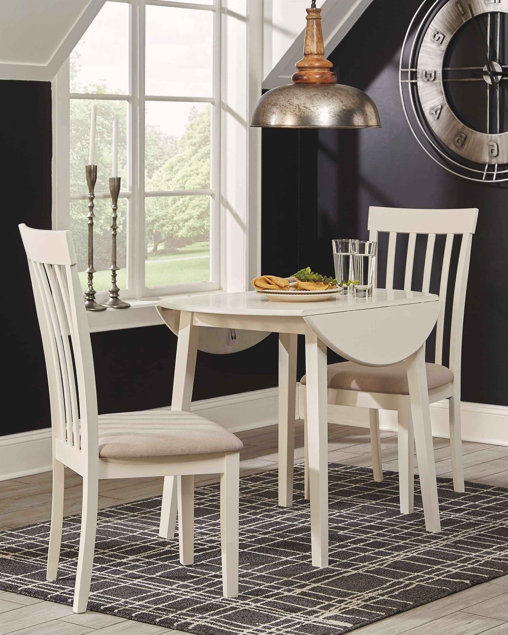 Recent Market 7 Piece Dining Sets With Host And Side Chairs in Slannery Dining Room Chair (Set Of 2), White #diningroomchairs
