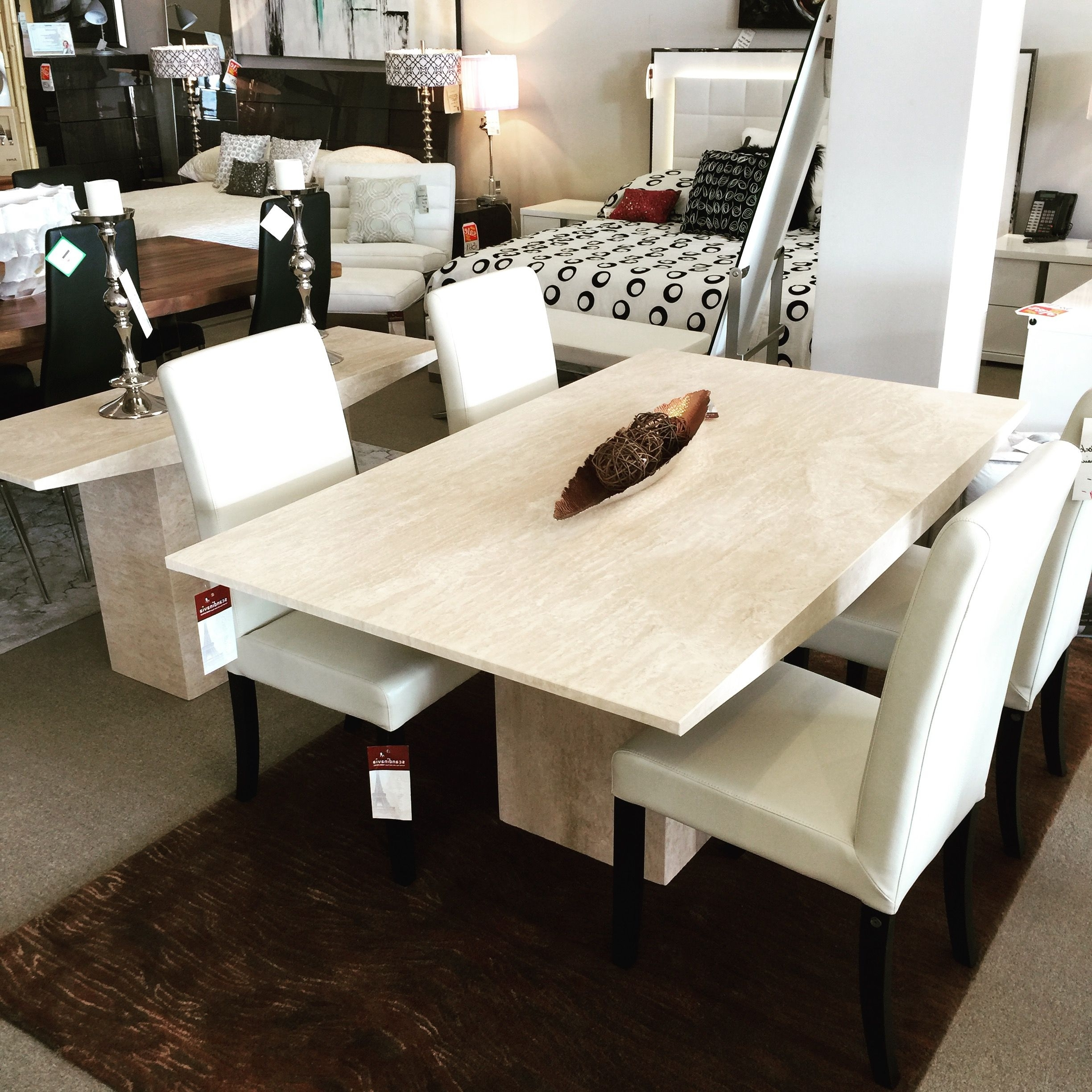 Recent Monaco Marble Dining Table Scandinavia Inc Metairie New Orleans In Monaco Dining Tables (View 21 of 25)