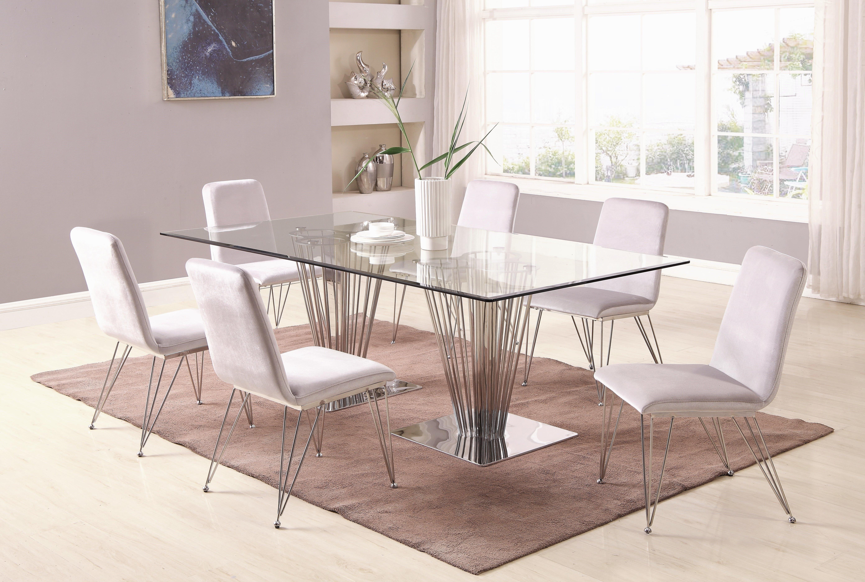Recent Orren Ellis Noah Dining Table (View 23 of 25)