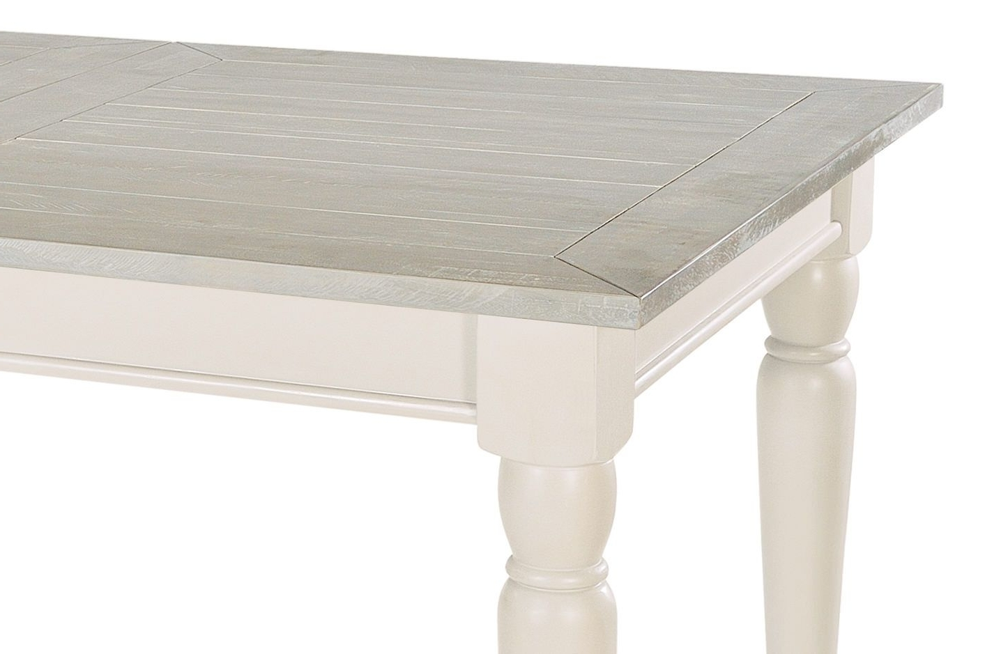 Recent Painted Extendable Dining Table – Bovary Ivory Regarding Ivory Painted Dining Tables (View 21 of 25)