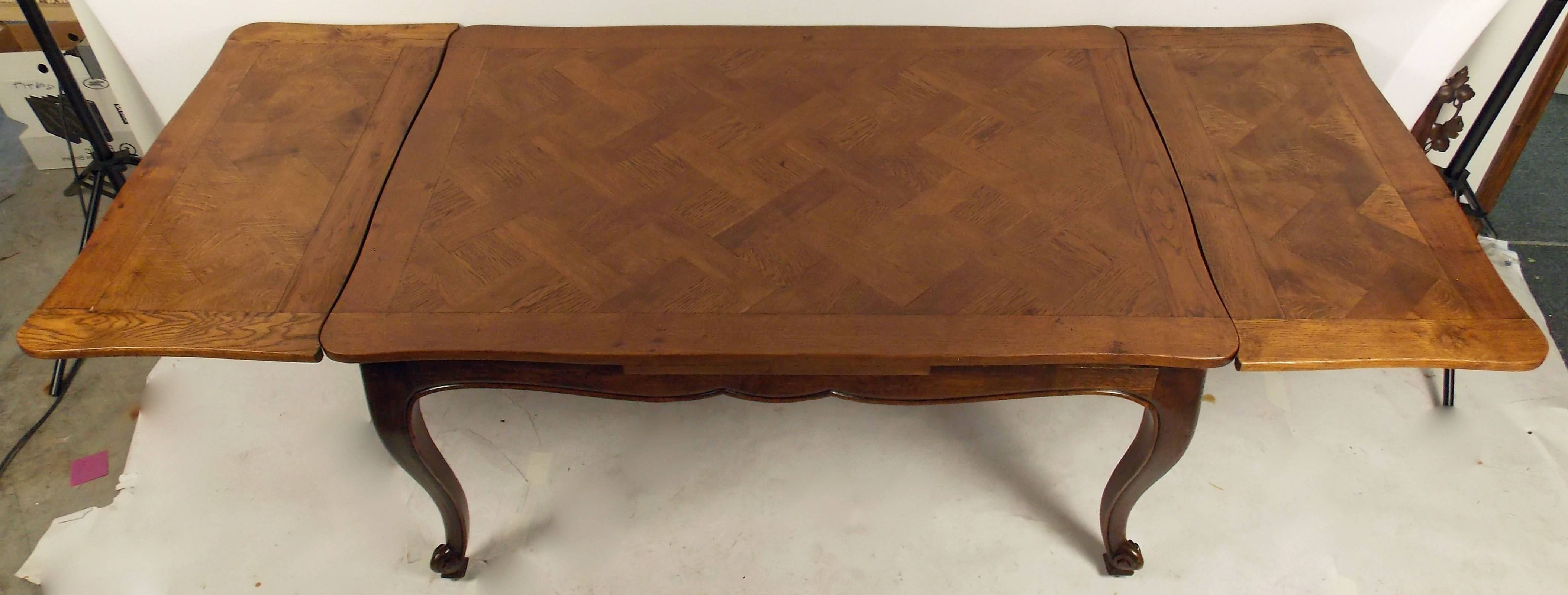 Recent Parquet Dining Tables With French Parquet Top Dining Table (View 9 of 25)