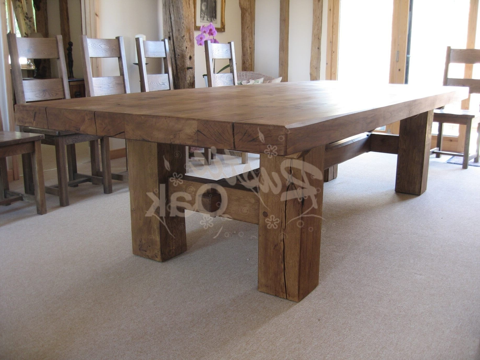 Featured Photo of Rustic Oak Dining Tables