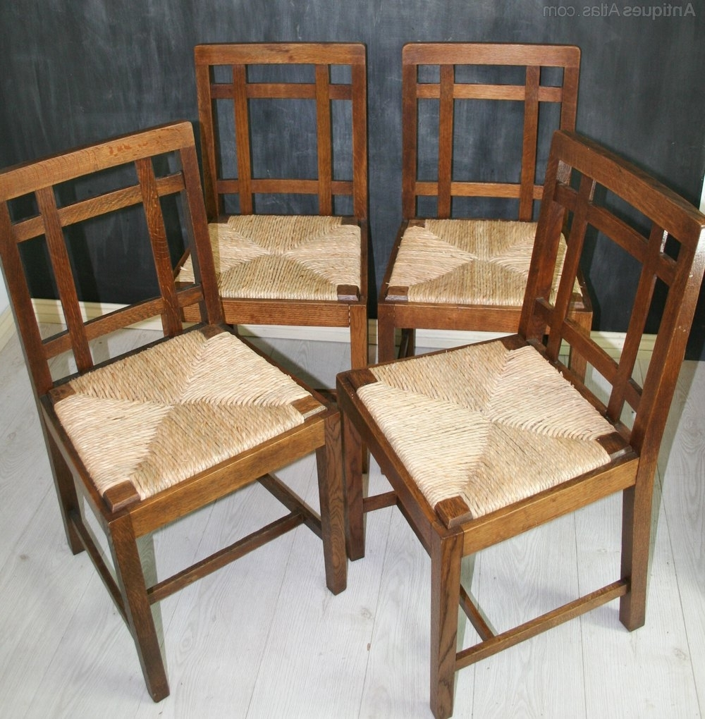 Recent Set 4 Cotswold Style Brynmawr Dining Chairs – Antiques Atlas Intended For Glasgow Dining Sets (View 19 of 25)