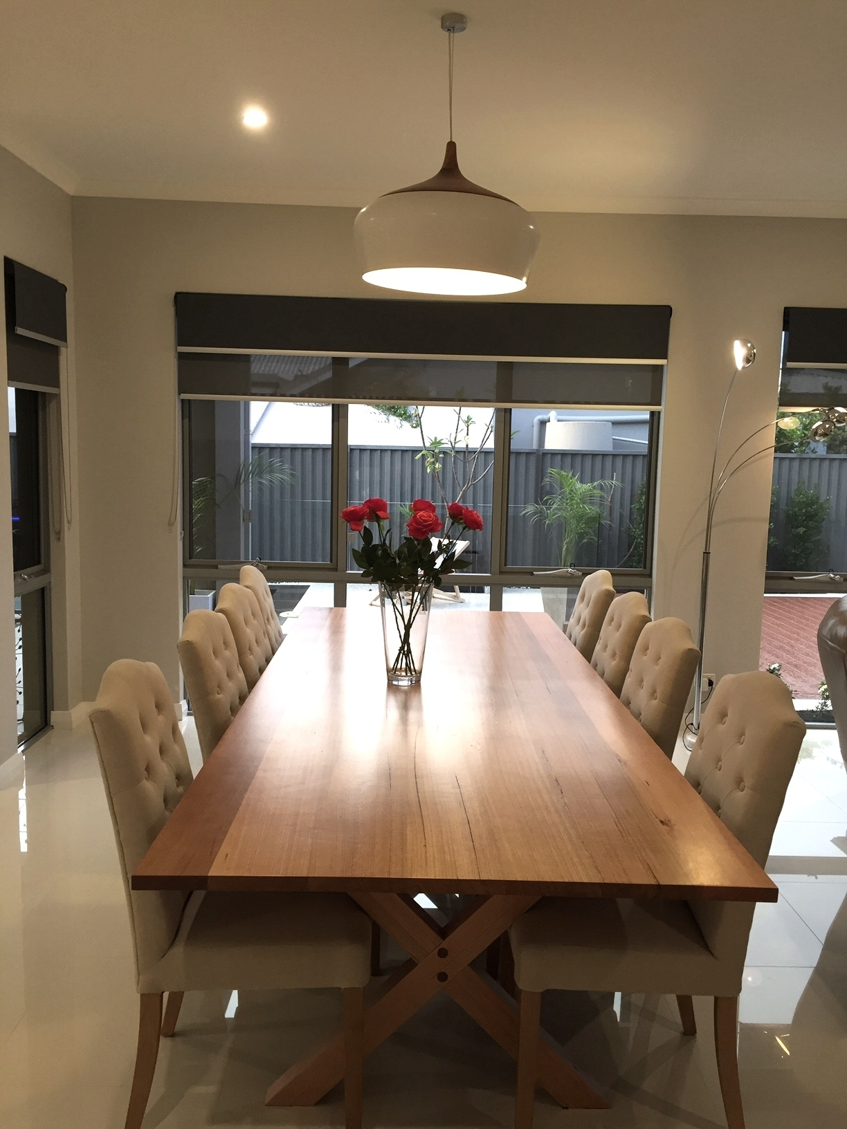 Recent Tasmanian Oak Dining Table « Arcadian Concepts - Specialising In in Perth Dining Tables