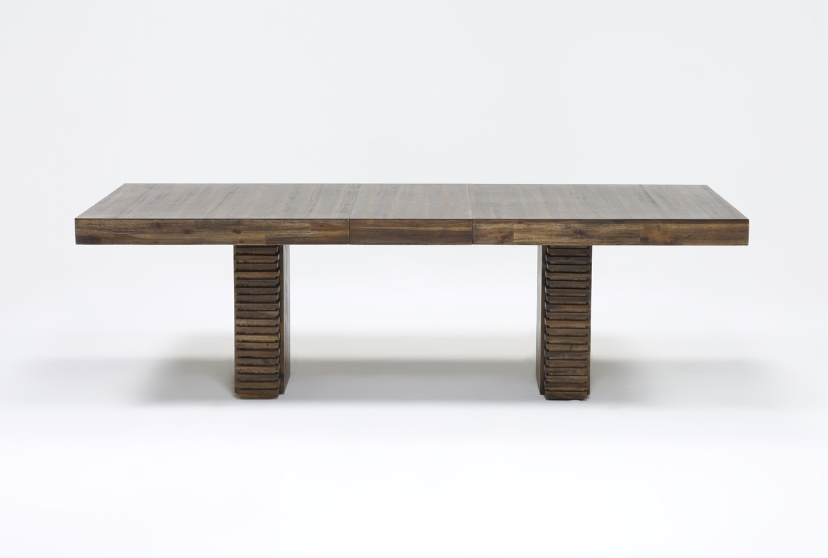 Recent Teagan Extension Dining Table (View 3 of 25)