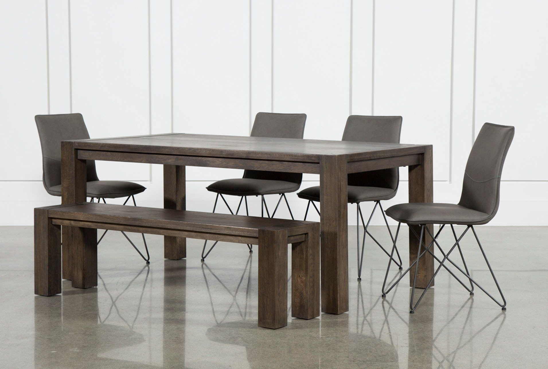 Recent Teagan Extension Dining Tables Intended For Benson 6 Piece Extension Dining Set W/ranger Chairs (View 12 of 25)
