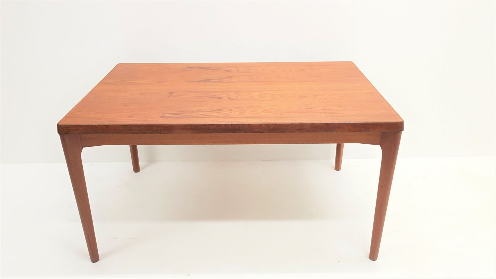 Recent Teak Extendable Dining Tablehenning Kjærnulf For Vejle Within Square Extendable Dining Tables (View 11 of 25)