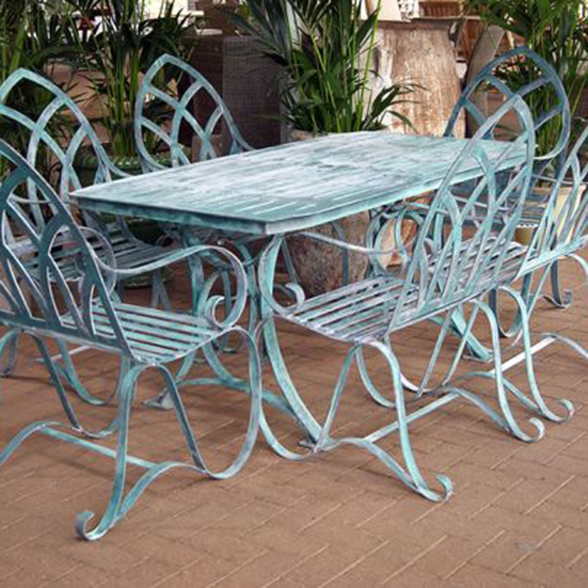 Recent Why You Should Buy Cast Aluminum Garden Furniture? Regarding Garden Dining Tables (View 23 of 25)