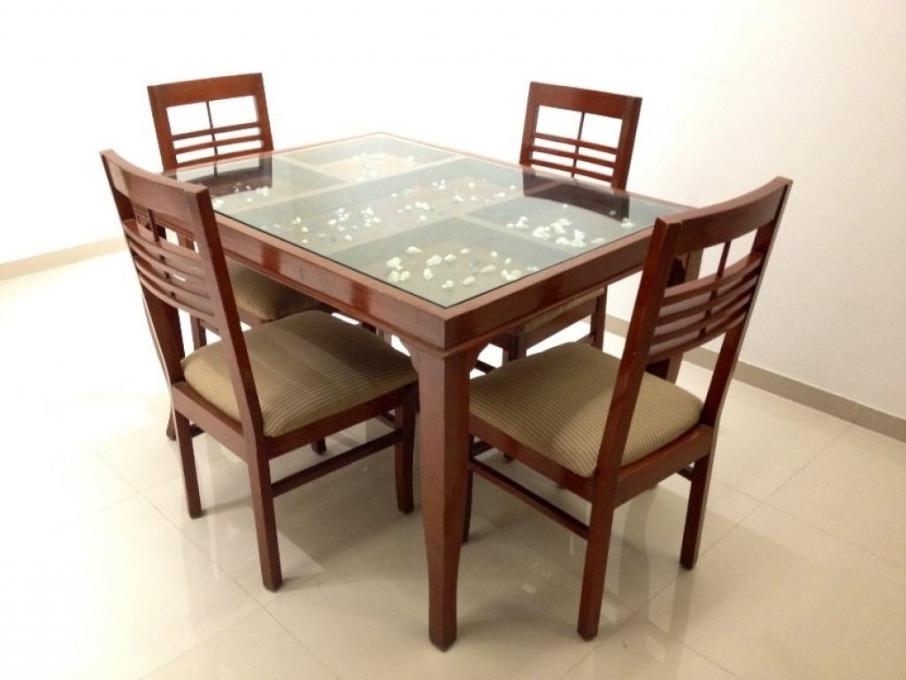 Recent Wood Glass Dining Tables – Soulpower Intended For Mirror Glass Dining Tables (View 19 of 25)