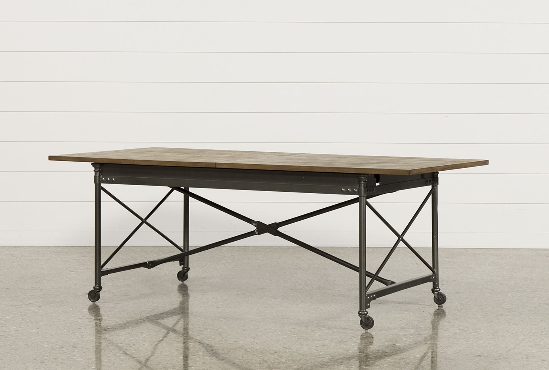 Rectangle Dining Table, Rustic (View 11 of 25)
