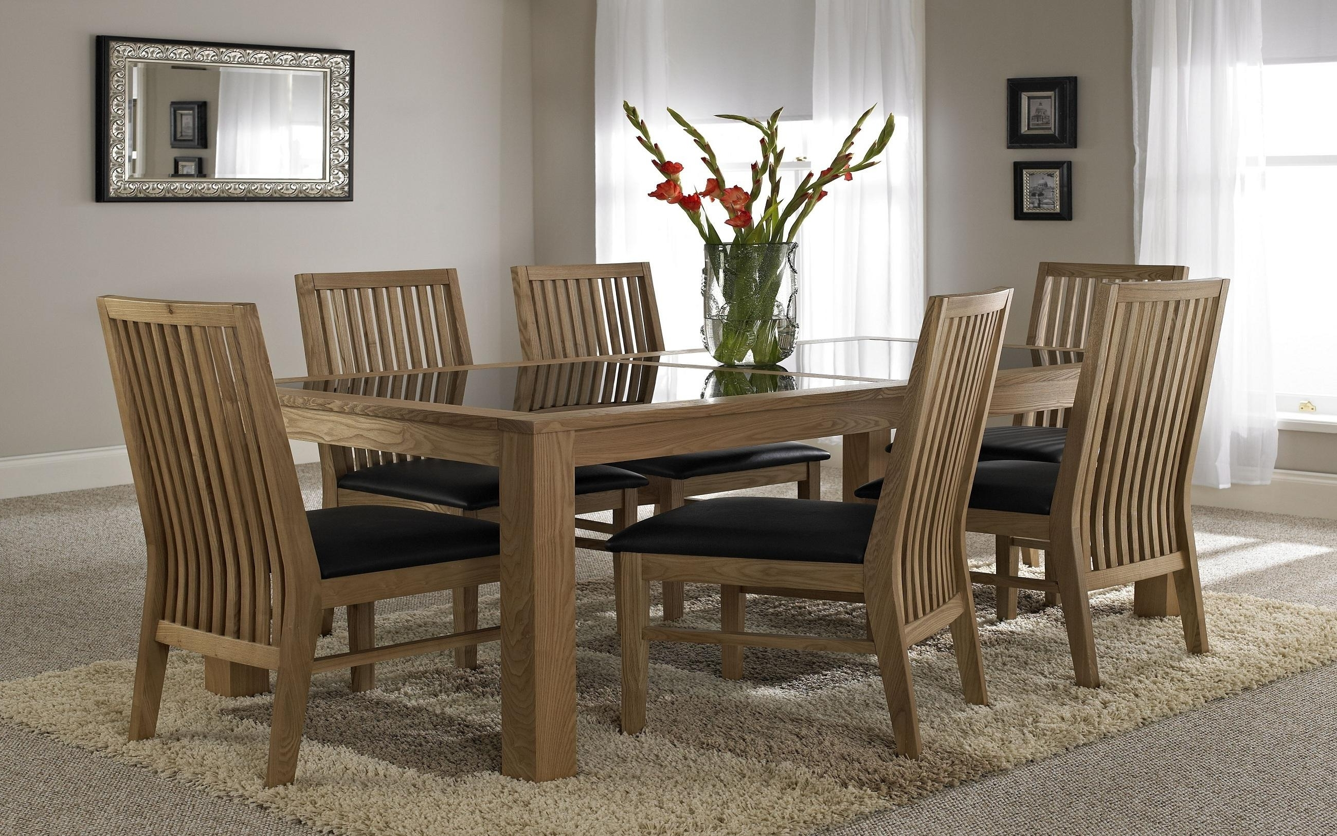 Rectangle Wood Dining Table – Lisaasmith Within Latest Wood Glass Dining Tables (View 13 of 25)