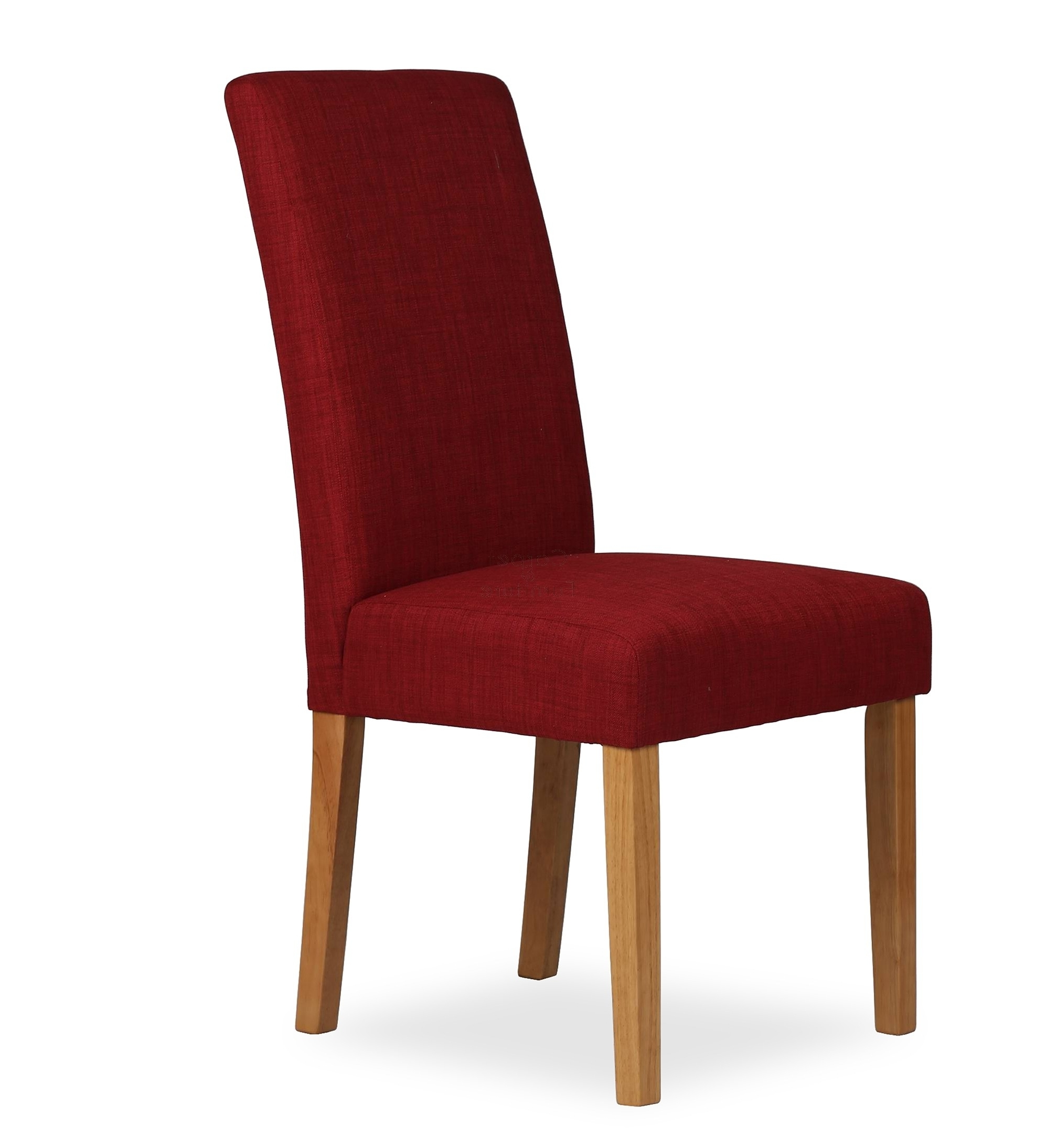 Red Dining Chairs For Best And Newest Upholstered Dining Chair – Claret Red (View 17 of 25)