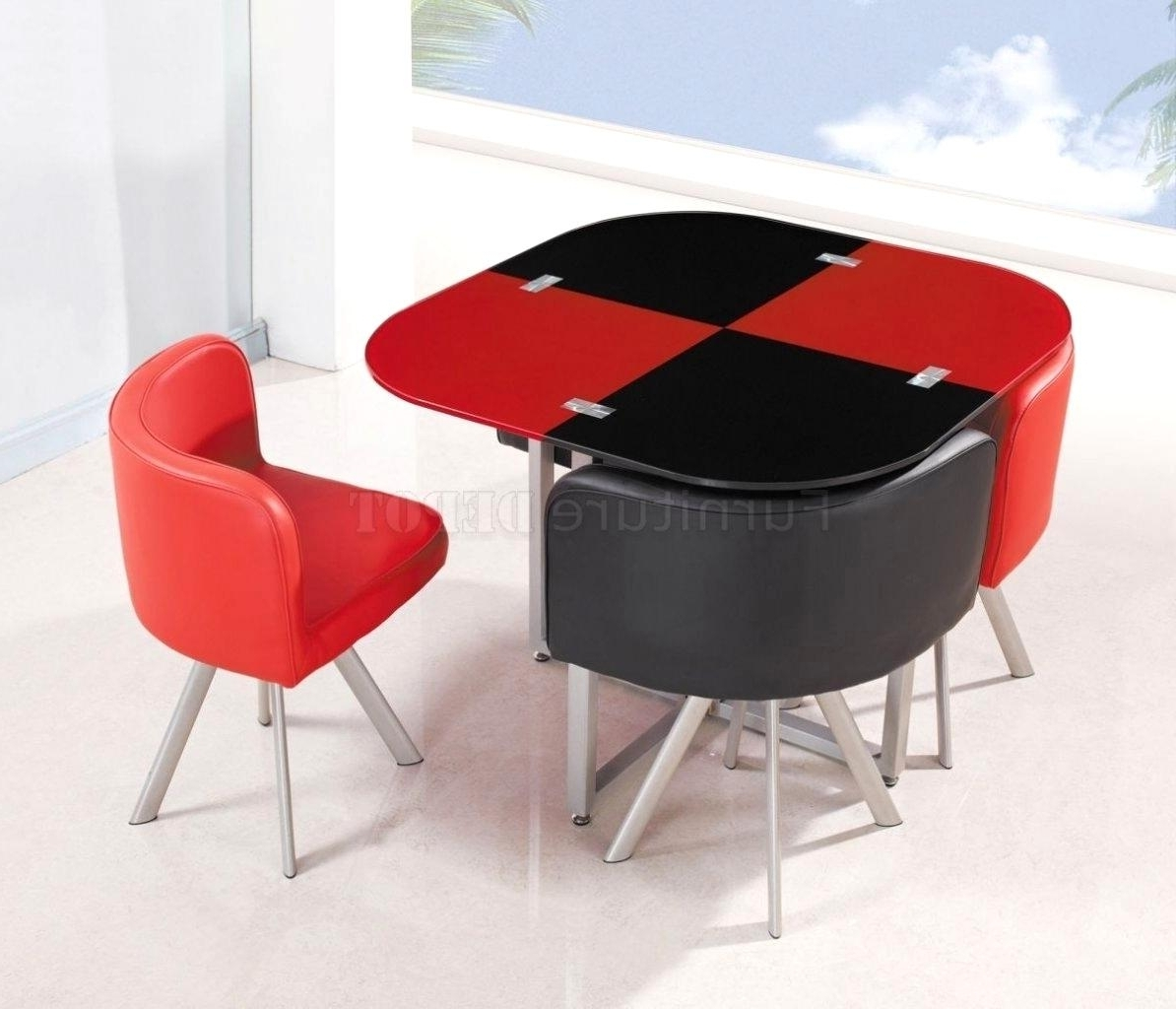 Red Dining Tables And Chairs With Best And Newest Lovely Red Dining Sets Stainless Steel Red Dining Table And Chairs (View 18 of 25)