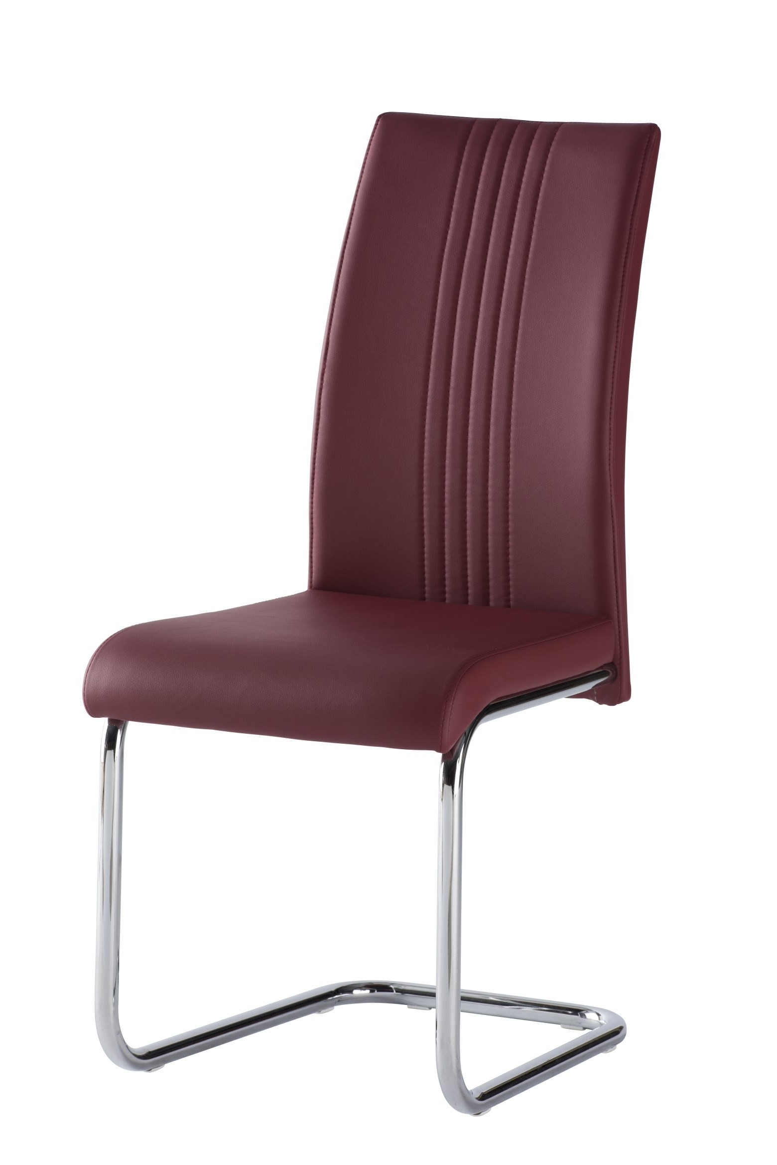 Red Leather Dining Chairs Pertaining To Most Recently Released Shop For Red Leather Dining Chairs With Cantilever Online Now (View 21 of 25)