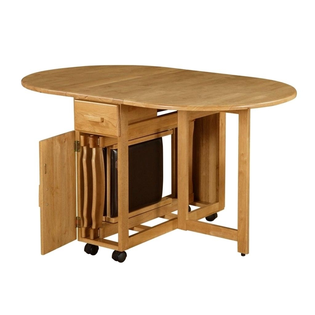 Remarkable Ikea Folding Kitchen Table Ideas Alluring Folding Table Throughout Most Current Folding Dining Table And Chairs Sets (View 4 of 25)