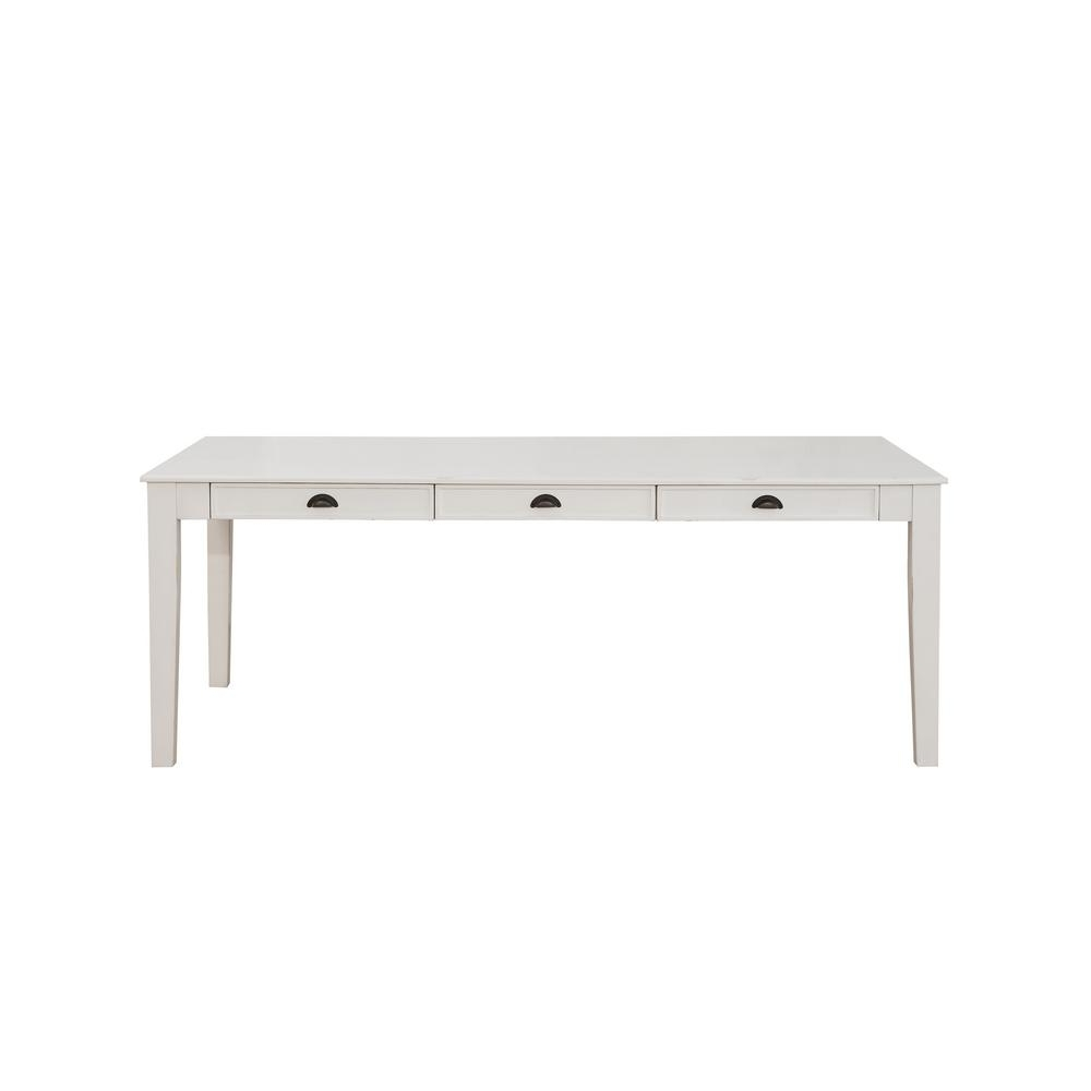 Renske Antique White Dining Table (View 20 of 25)