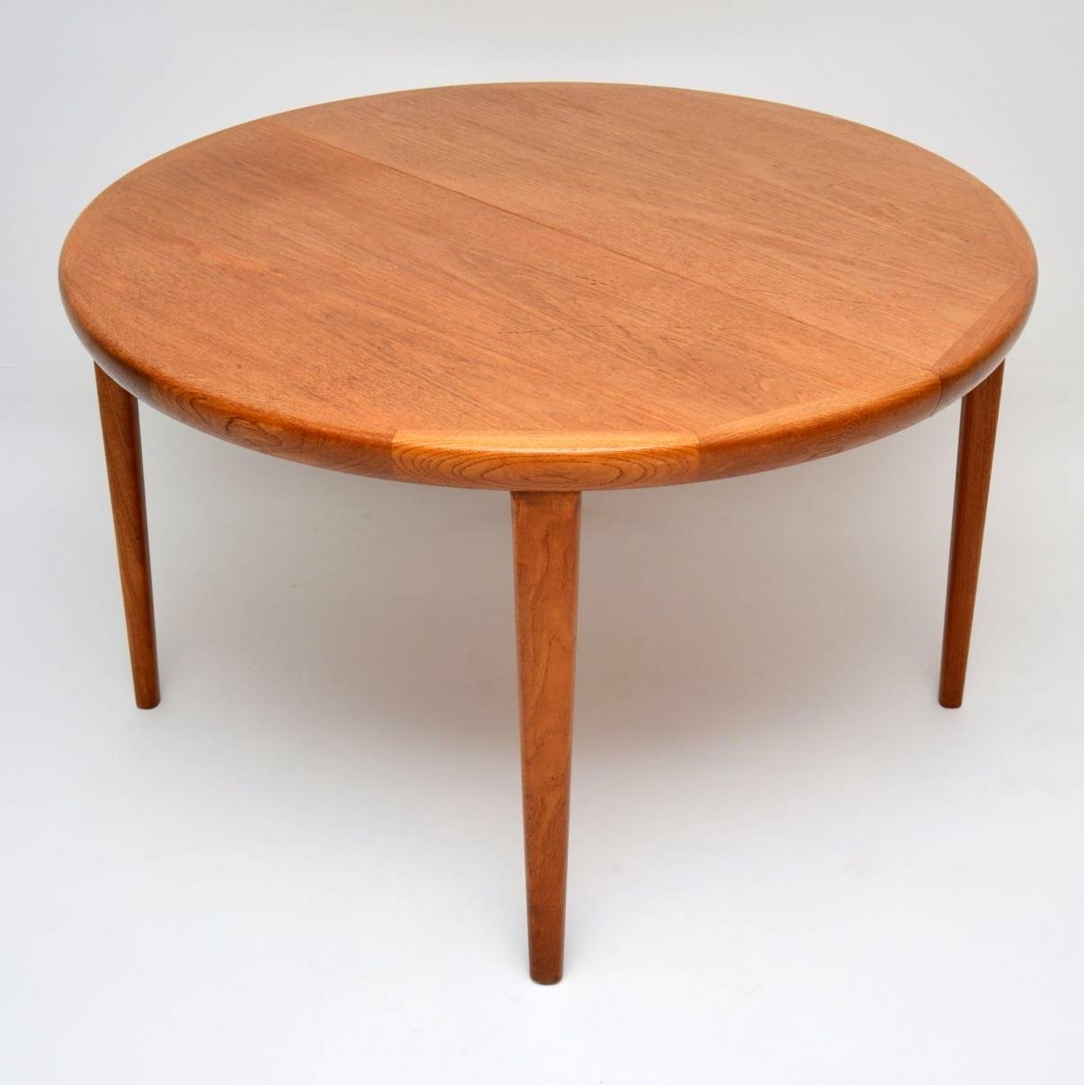 Retro Extending Dining Tables For Well Known Danish Retro Teak Extending Dining Tablevv Mobler Vintage 1960's (View 17 of 25)