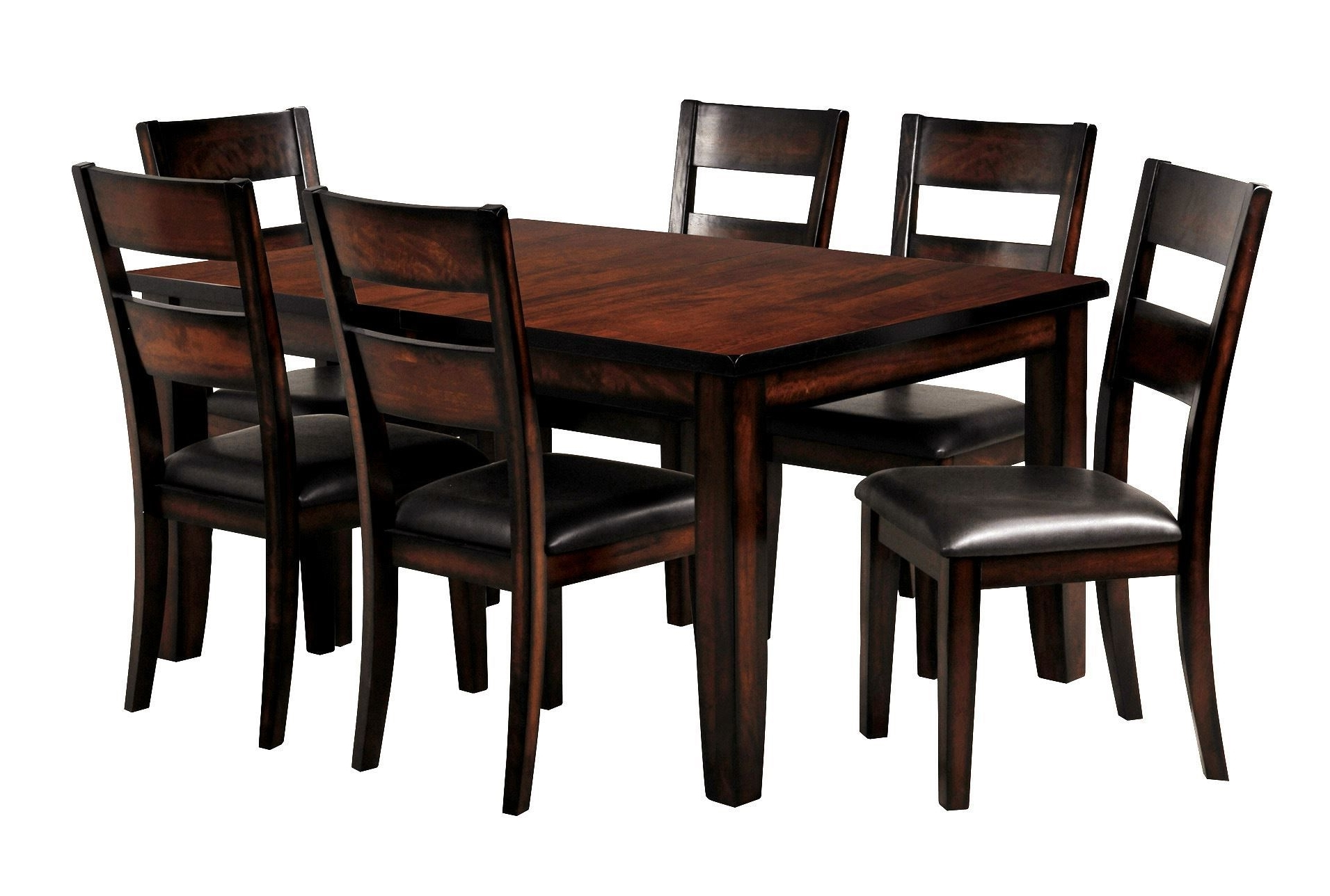 Rocco 7 Piece Extension Dining Set (View 17 of 25)