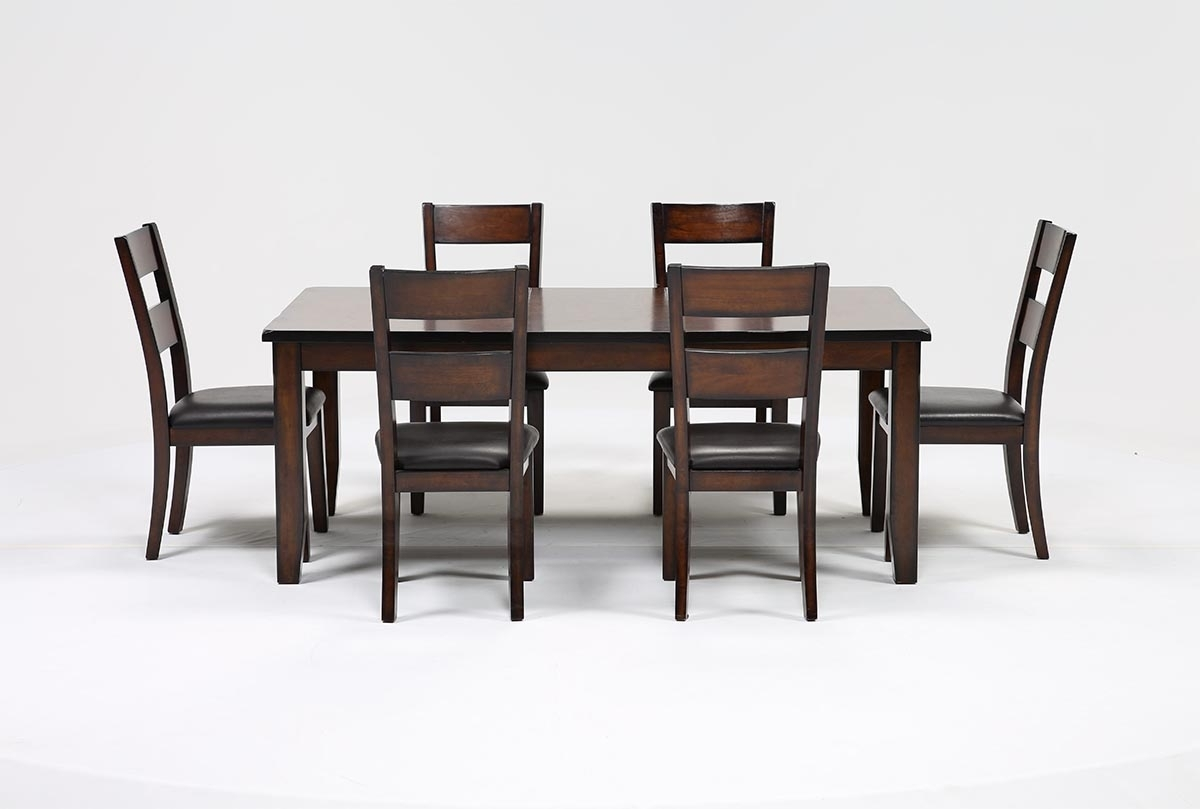 Rocco 7 Piece Extension Dining Set (View 16 of 25)