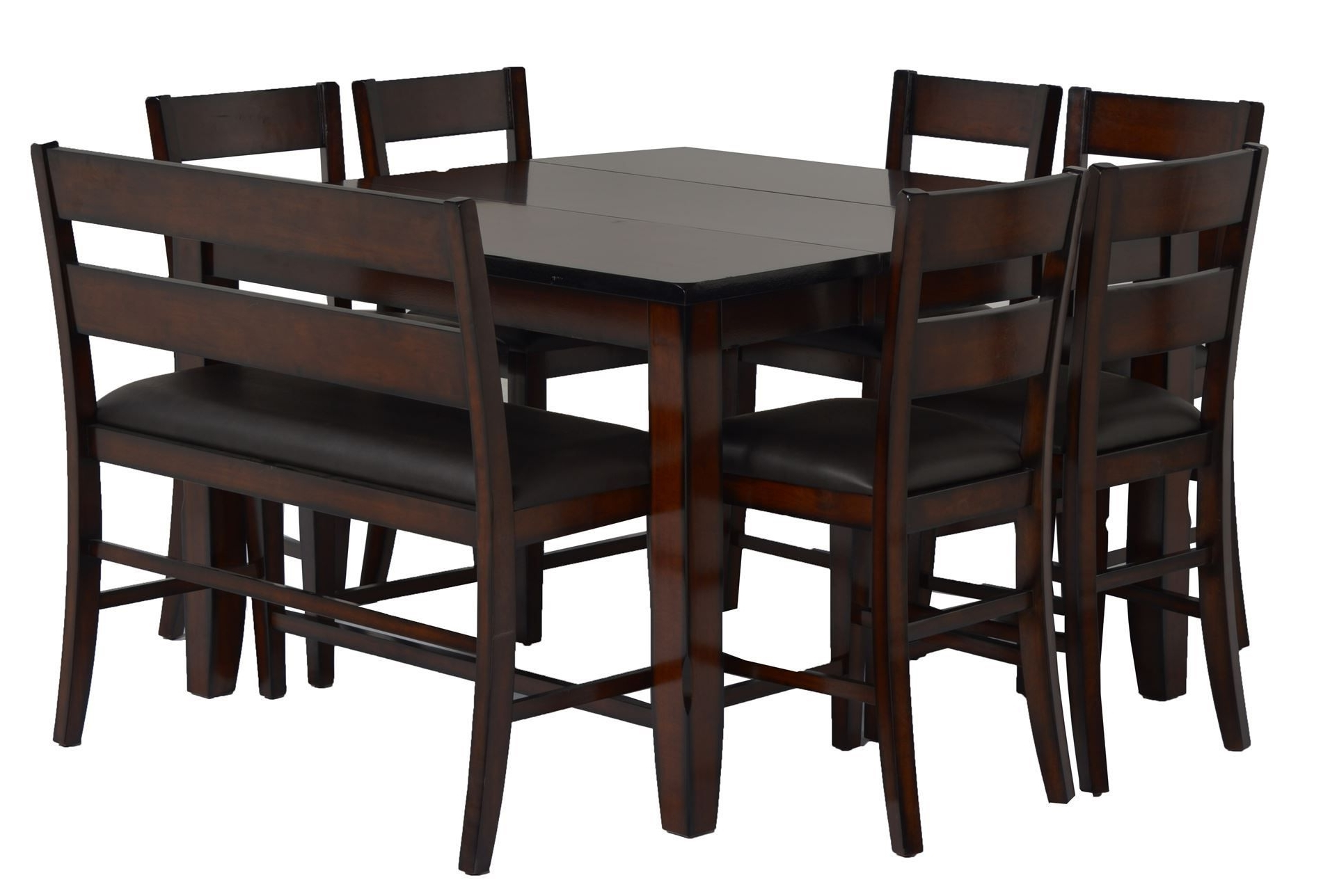 Rocco 9 Piece Extension Counter Sets for Favorite 8 Piece Extension Counter Set, Rocco, Espresso, Kitchen & Dining