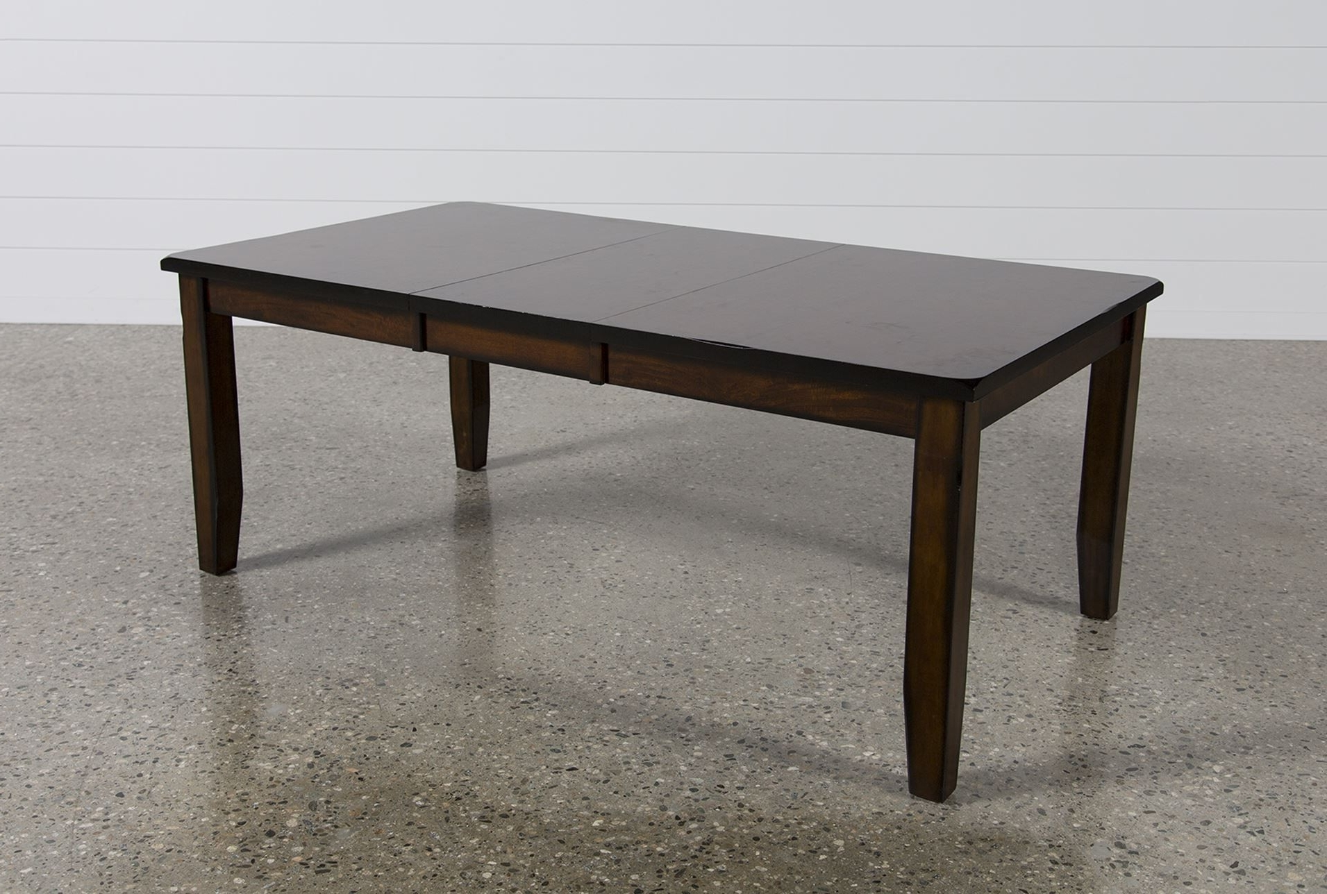 Rocco Extension Dining Table, Dark Espresso (View 18 of 25)