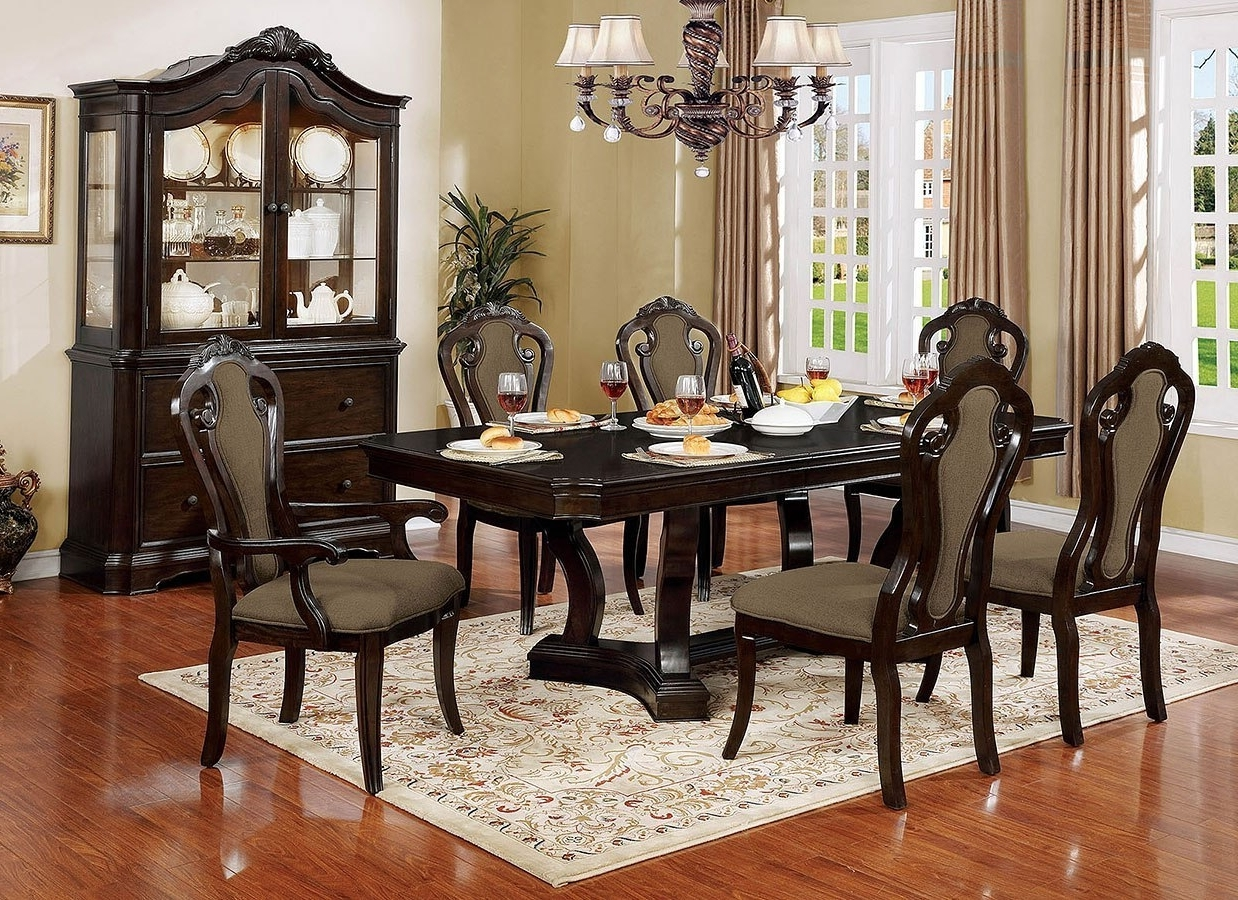 Rosalina Dining Room Set Furniture Of America (View 21 of 25)