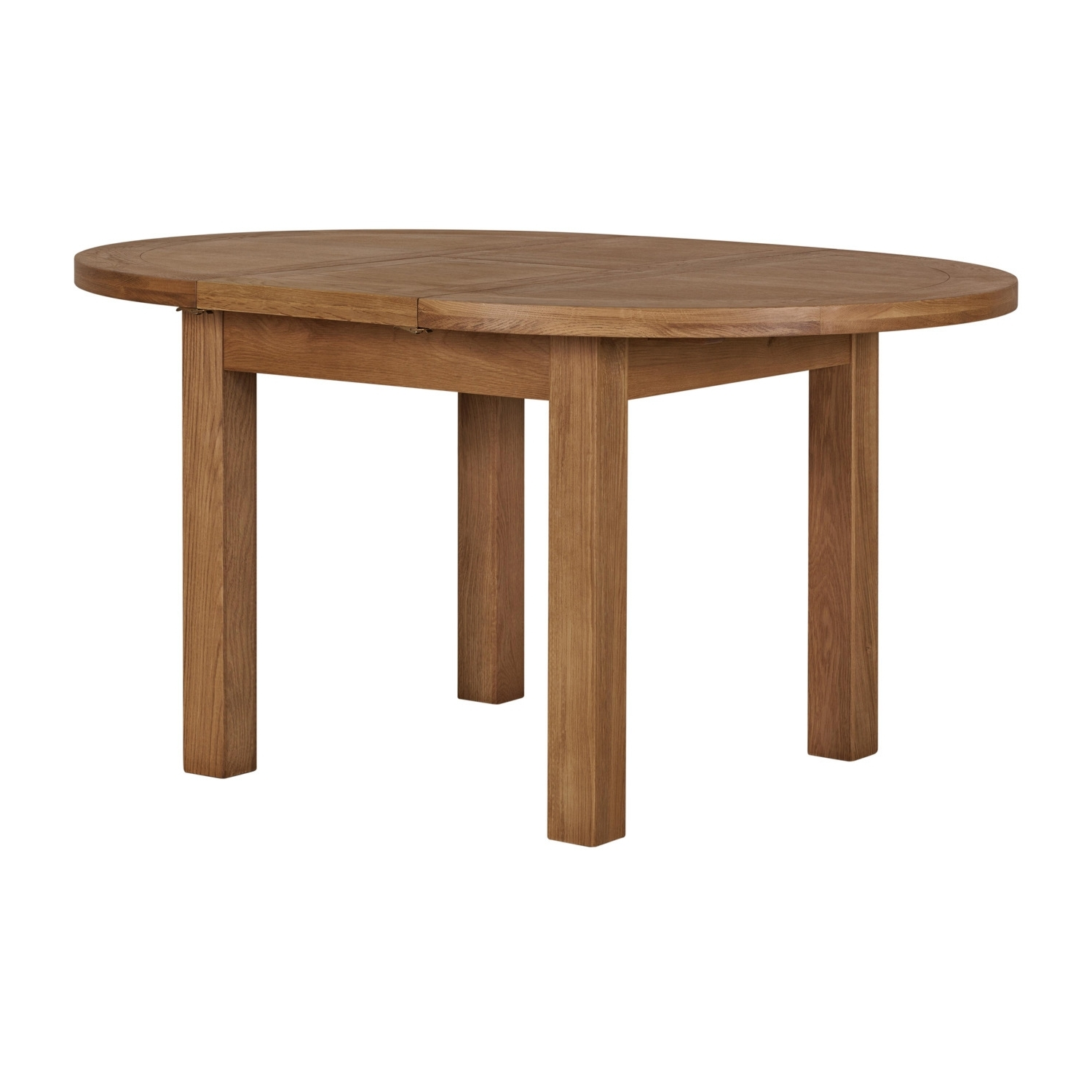 Round Extending Oak Dining Tables And Chairs Inside Most Popular Kinsale Round Extending Dining Table (View 18 of 25)