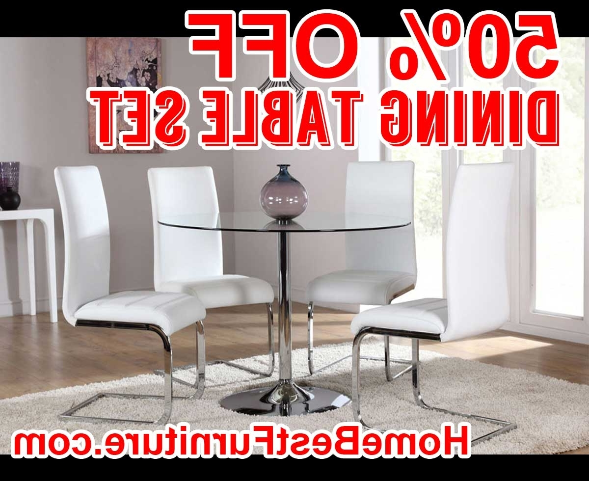 Round Glass Dining Table (View 4 of 25)