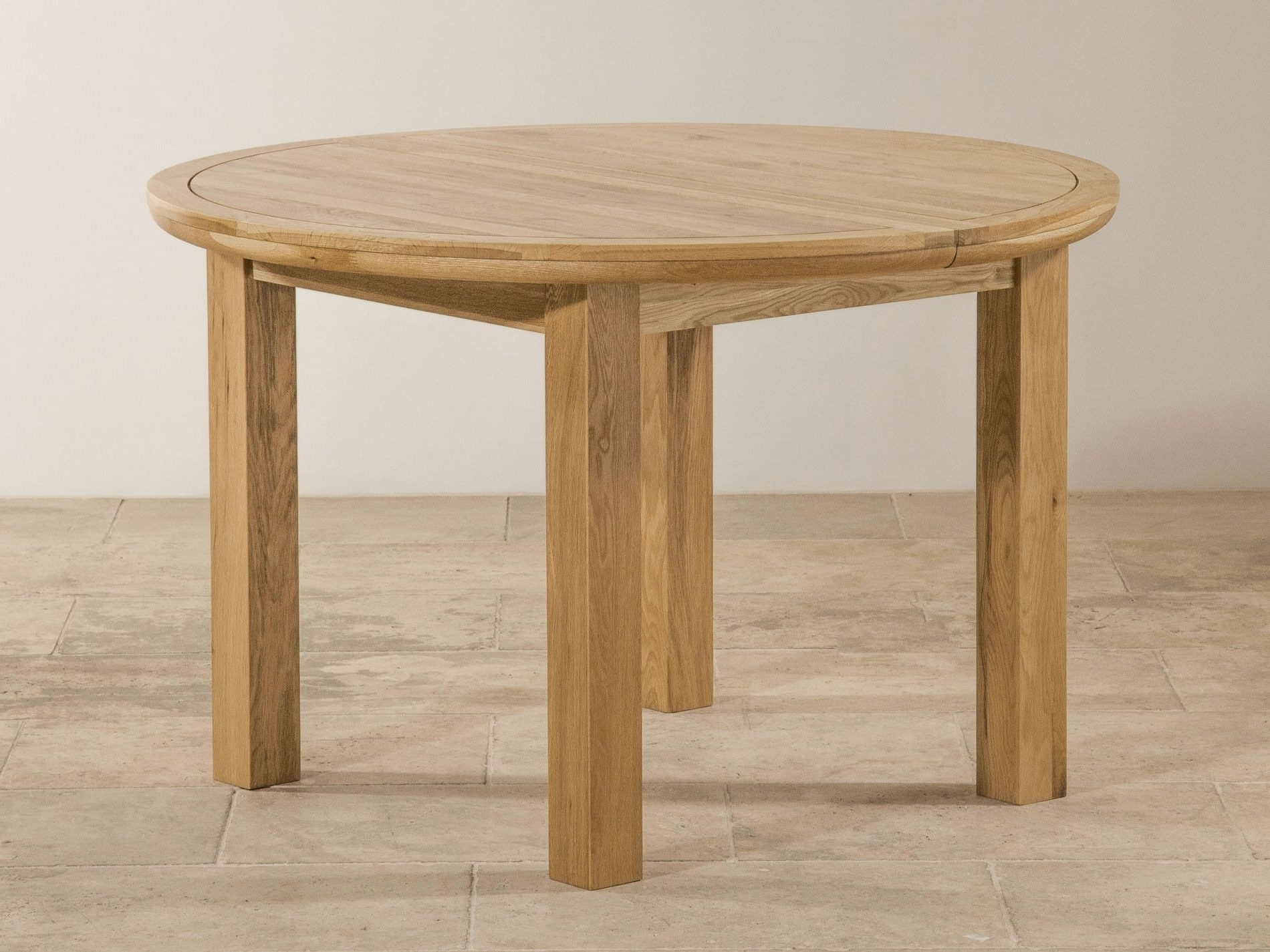 Round Oak Extendable Dining Tables And Chairs Regarding 2018 The 24 Elegant Solid Oak Round Dining Table 6 Chairs (View 21 of 25)