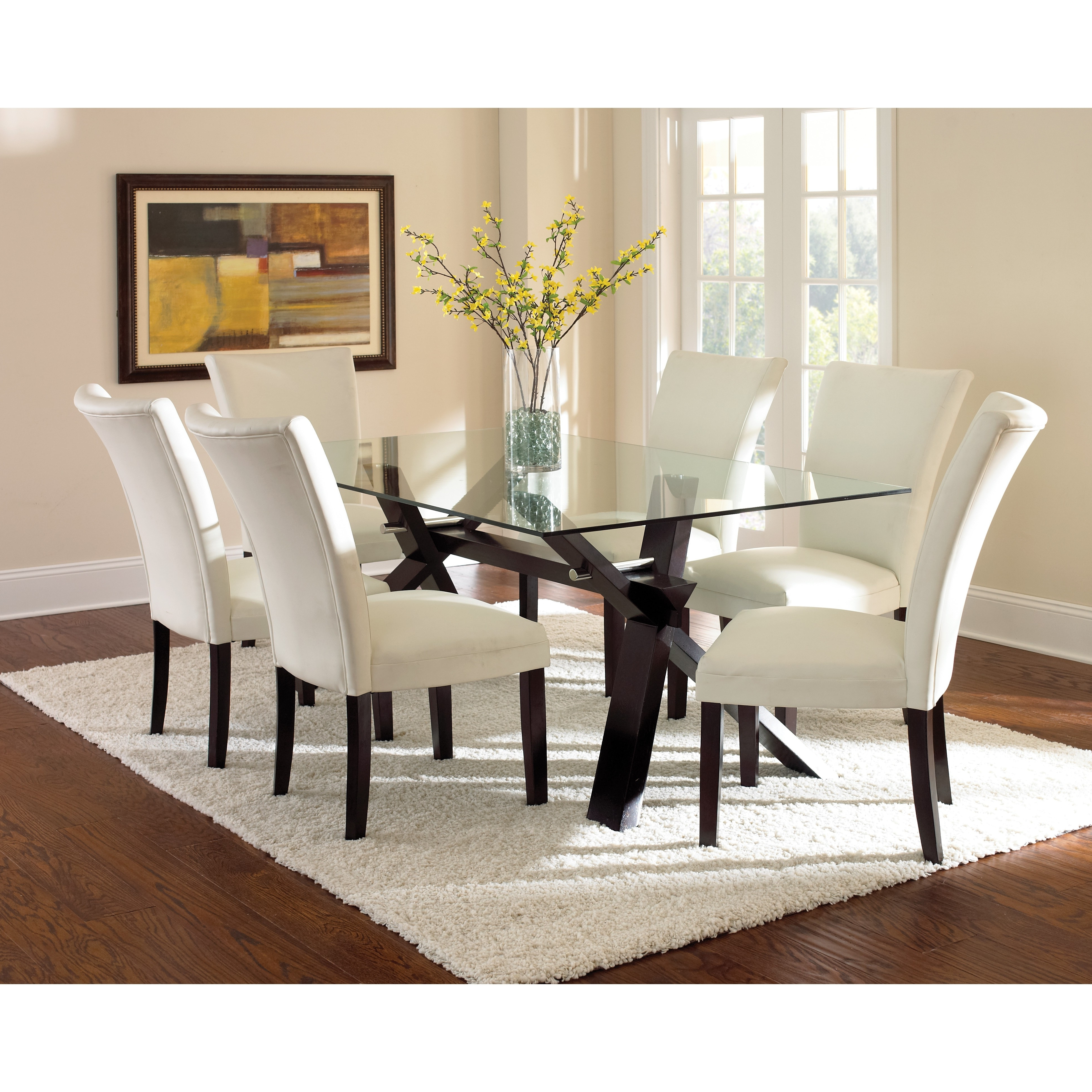 Round Smoked Glass Dining Table Elegant Modern Oval Glass Top Dining within Most Recent Smoked Glass Dining Tables And Chairs