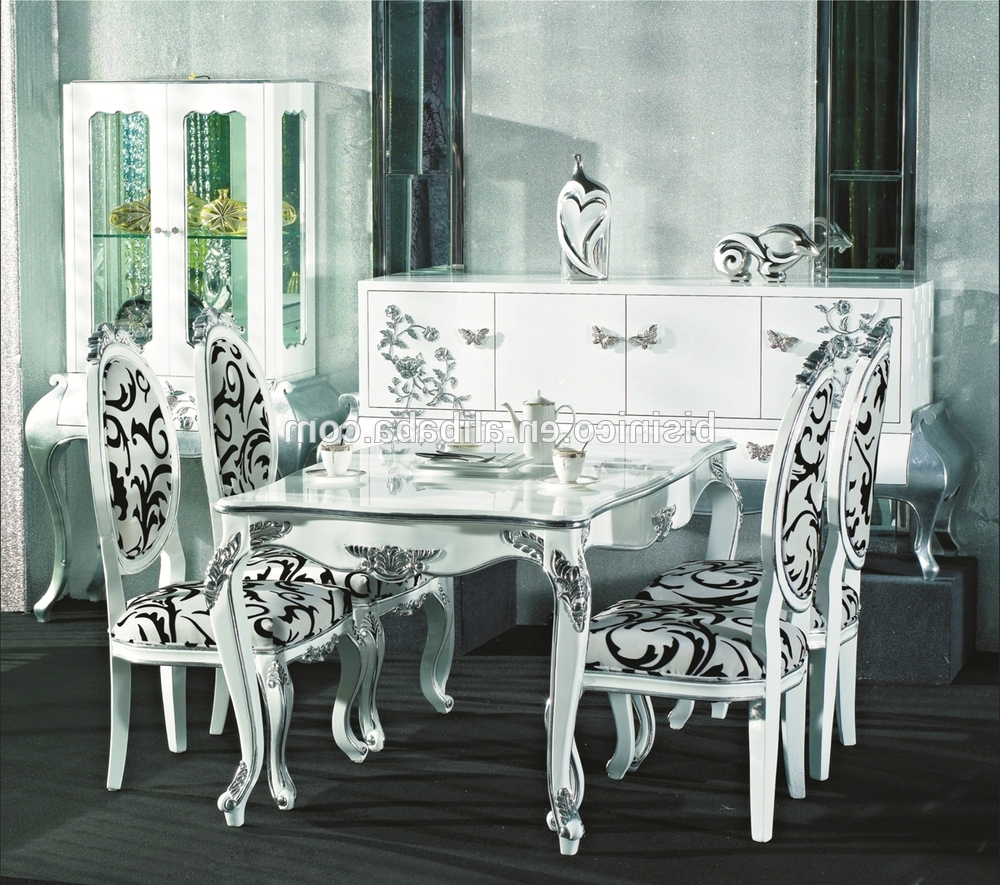 Royal Dining Tables With Popular Ornate Design Series Dining Set,square Dining Table And Chairs,royal (View 22 of 25)