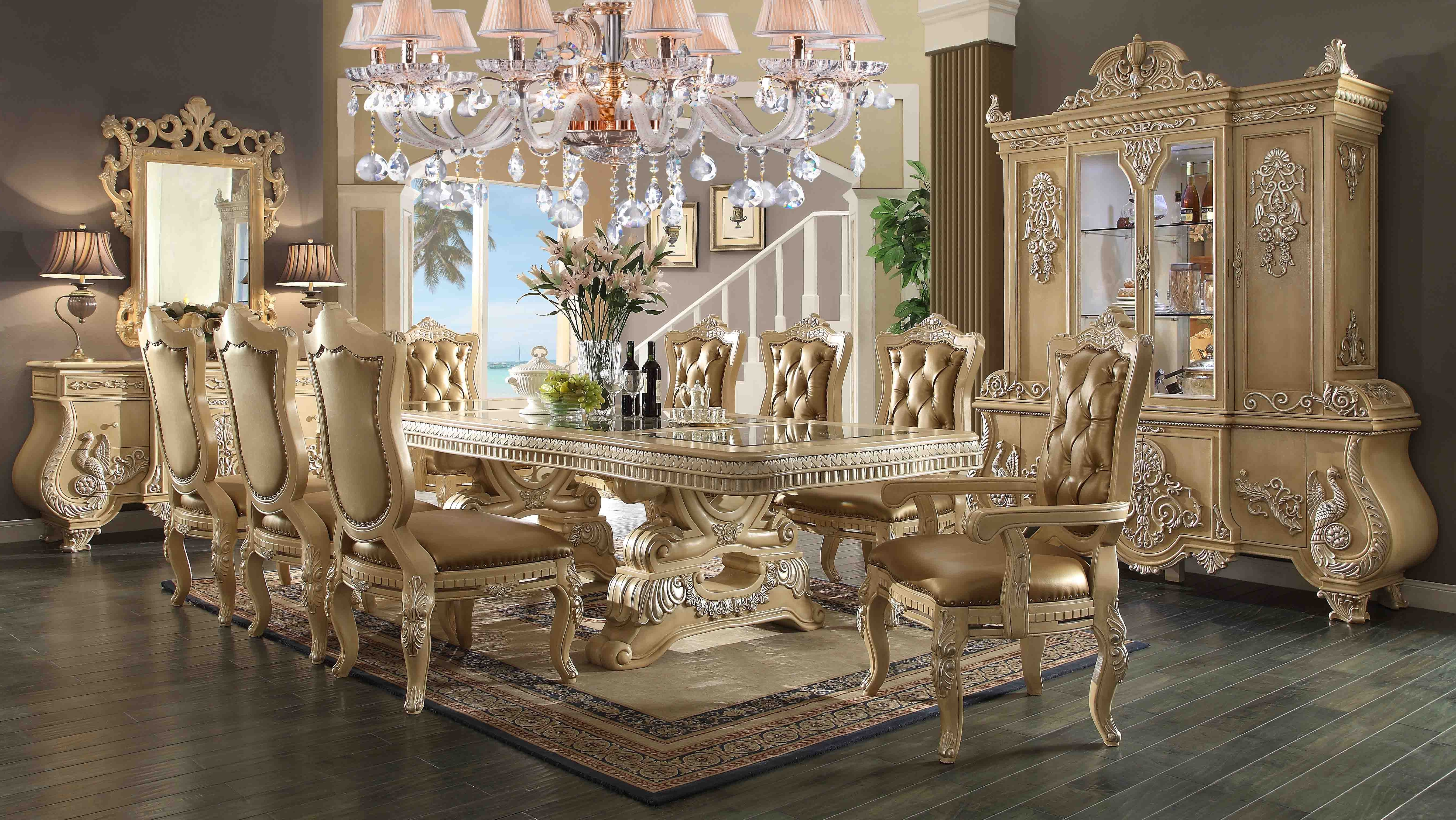 Royal Dining Tables Within Favorite Dining Room Hd7266 – Antique Recreations (View 23 of 25)