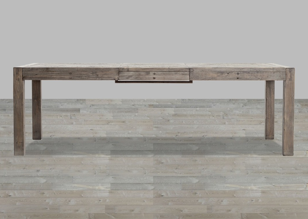 Rustic Black Olive Mixed Reclaimed Wood Dining Table Within 2017 Cheap Reclaimed Wood Dining Tables (View 19 of 25)