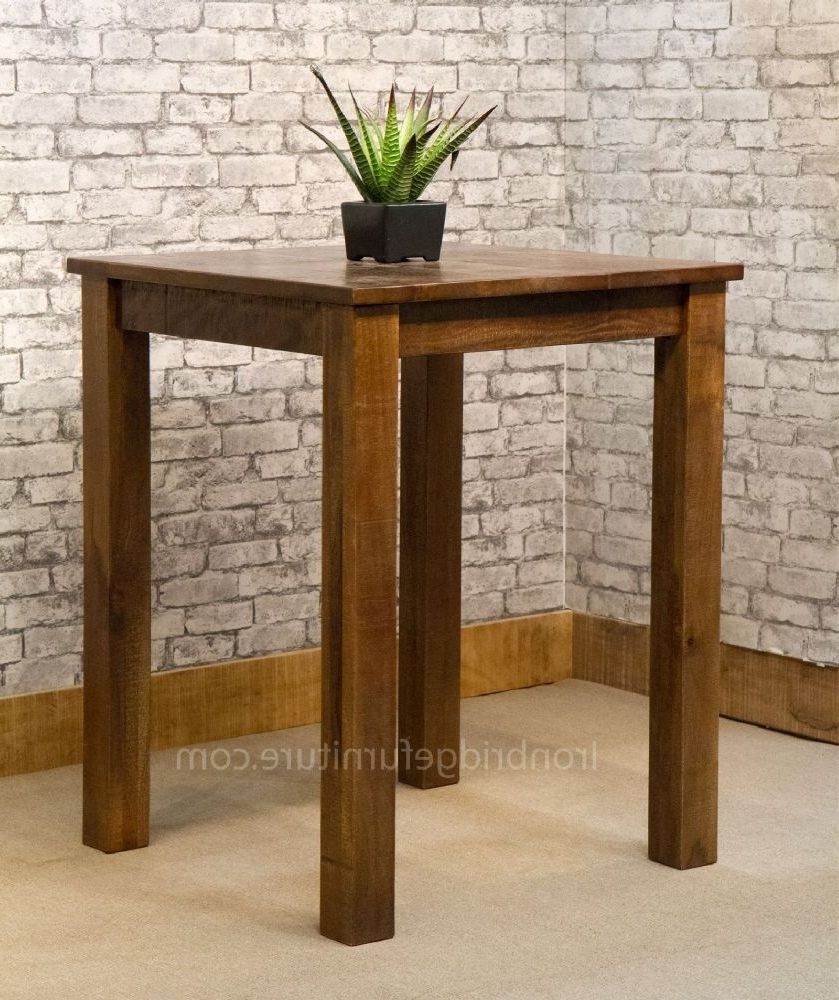 Rustic Farm Style Dining Table (View 19 of 25)