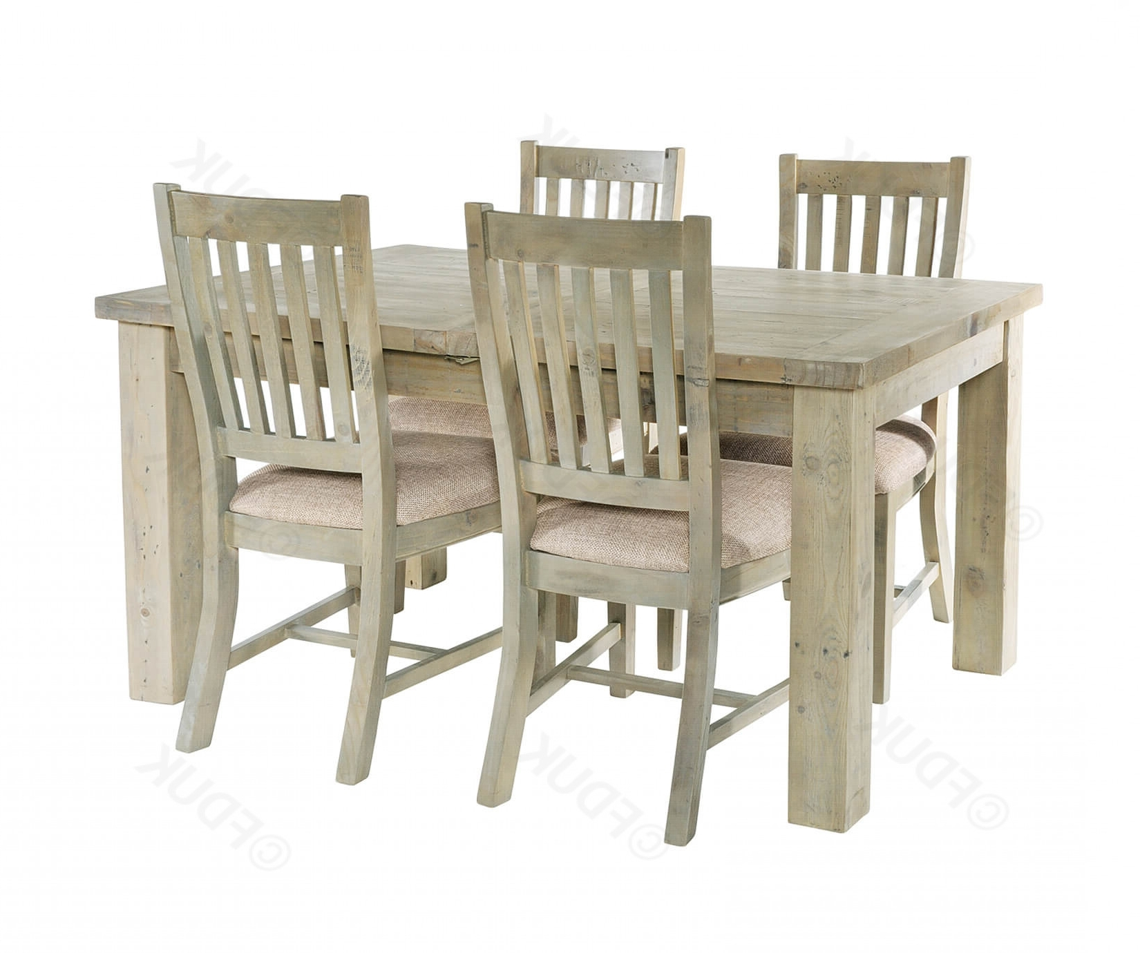 Saltash Small Extending Dining Table With 4 Chairs (View 13 of 25)