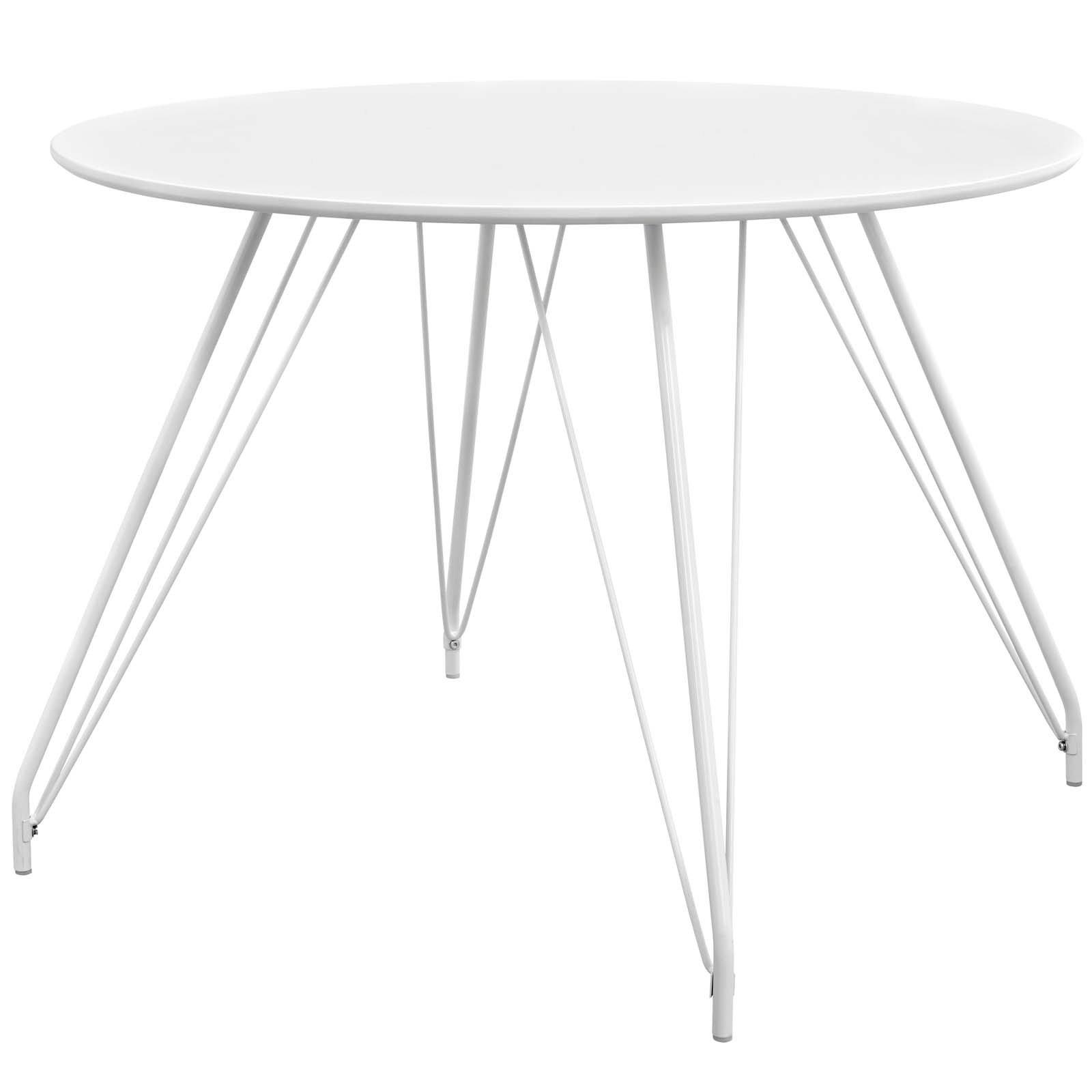 Satellite Circular Dining Table – White – Free Shipping Today Inside Latest White Circular Dining Tables (View 16 of 25)