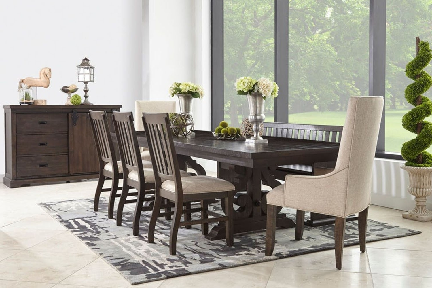 Save Mor Online And In Store With Most Up To Date Stone Dining Tables (View 6 of 25)