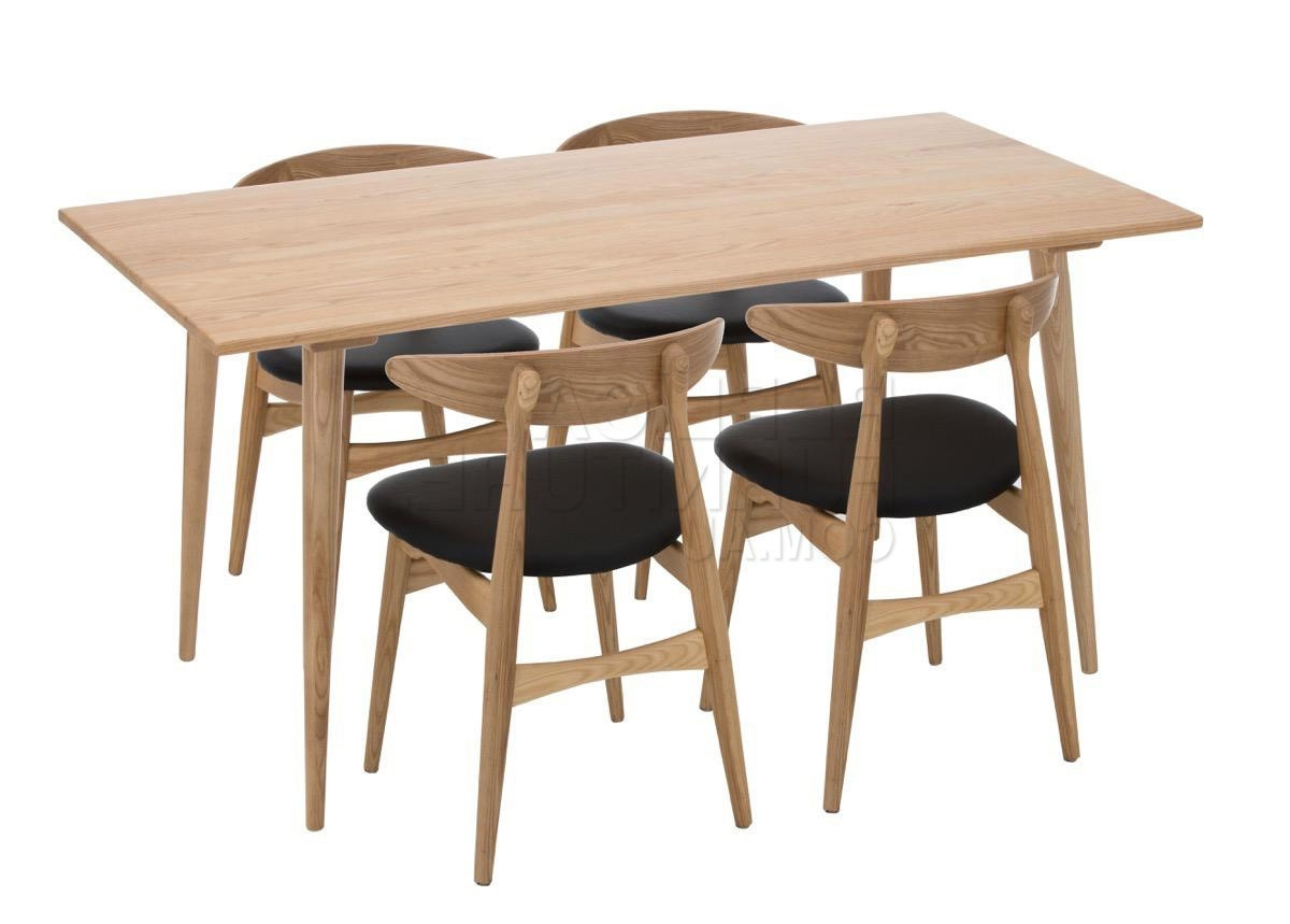 Scandinavian Dining Table – Modern Danish Furniture Intended For Latest Danish Style Dining Tables (View 9 of 25)